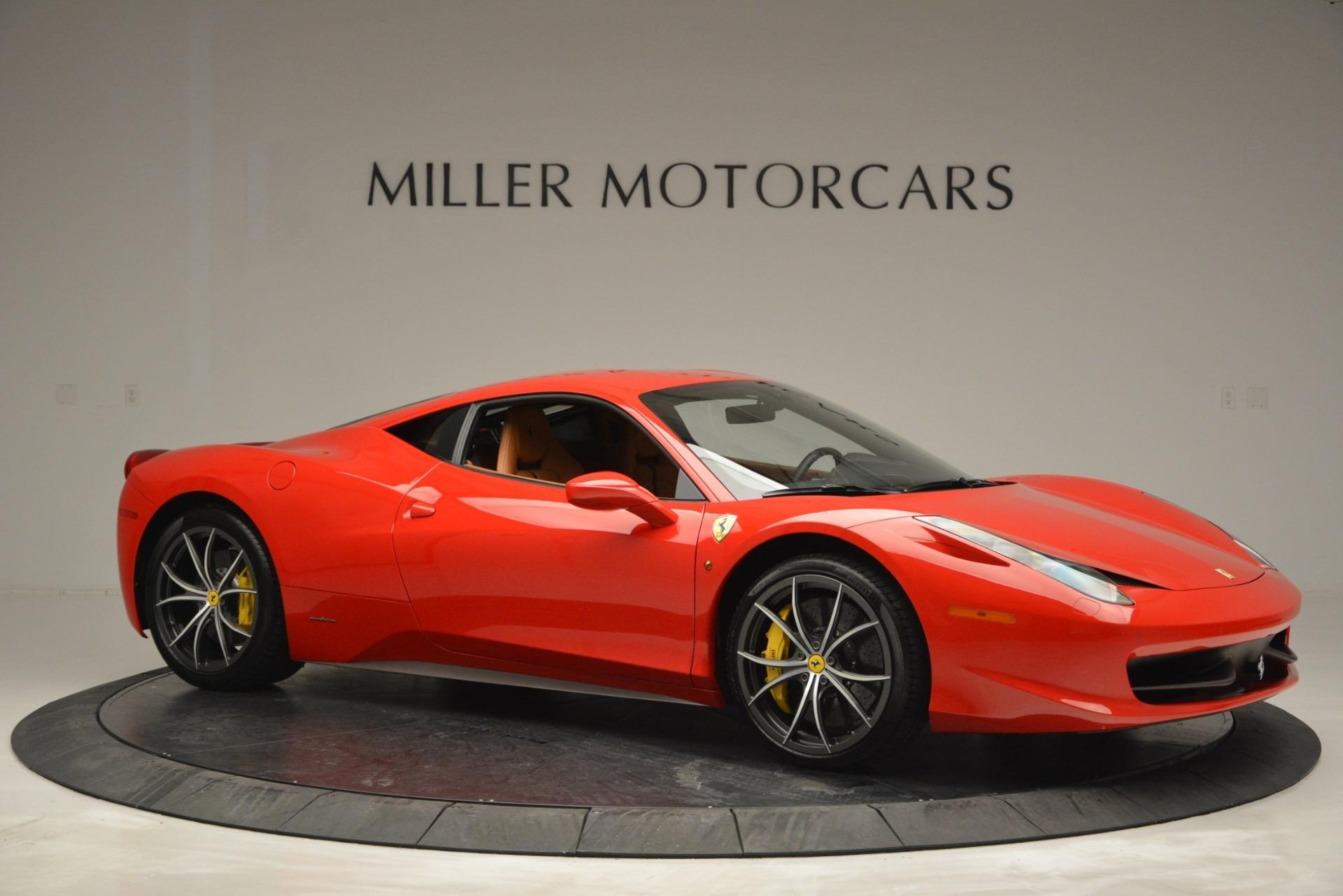 Used 2014 Ferrari 458 Italia  For Sale In Westport, CT 2920_p10