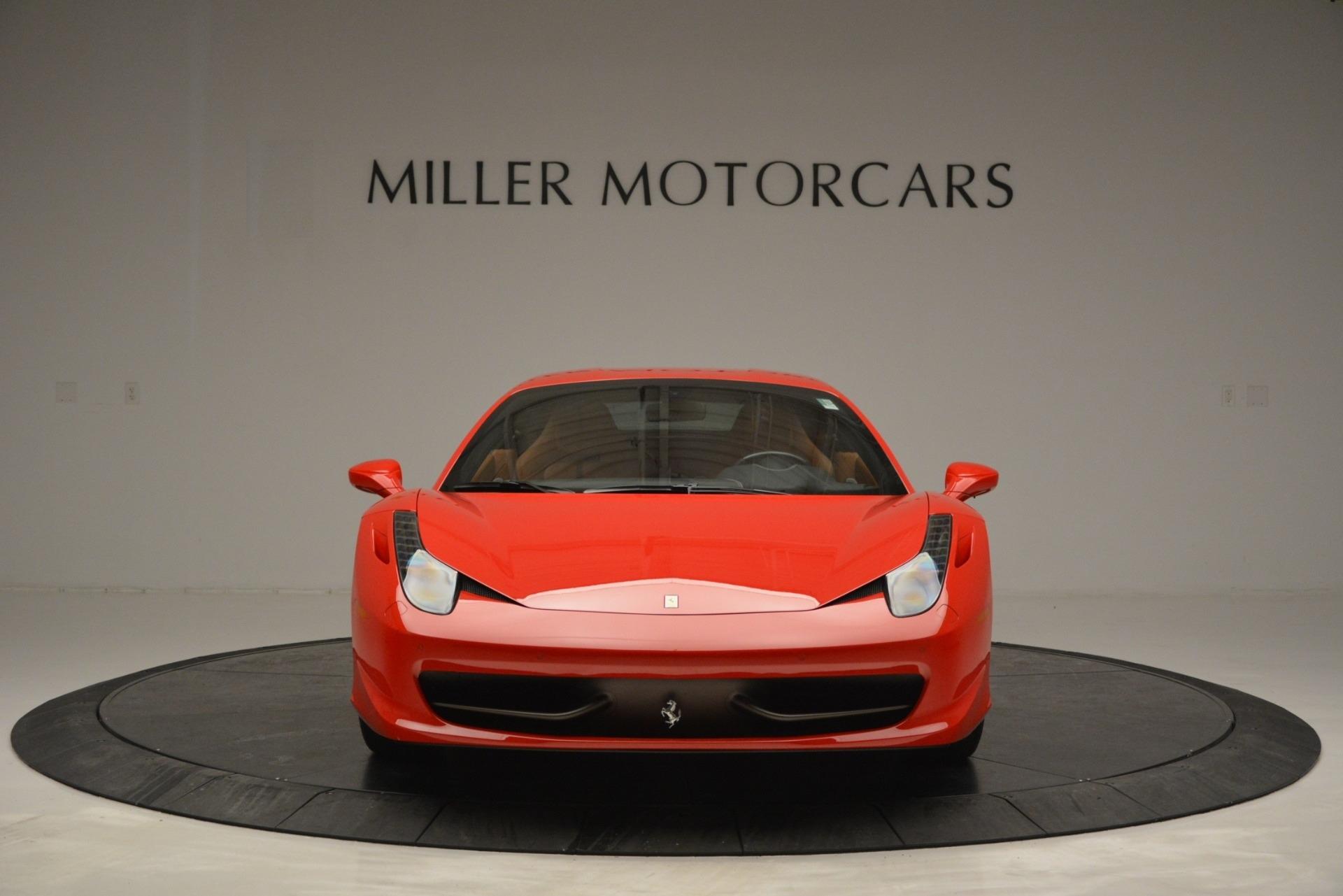 Used 2014 Ferrari 458 Italia  For Sale In Westport, CT 2920_p12