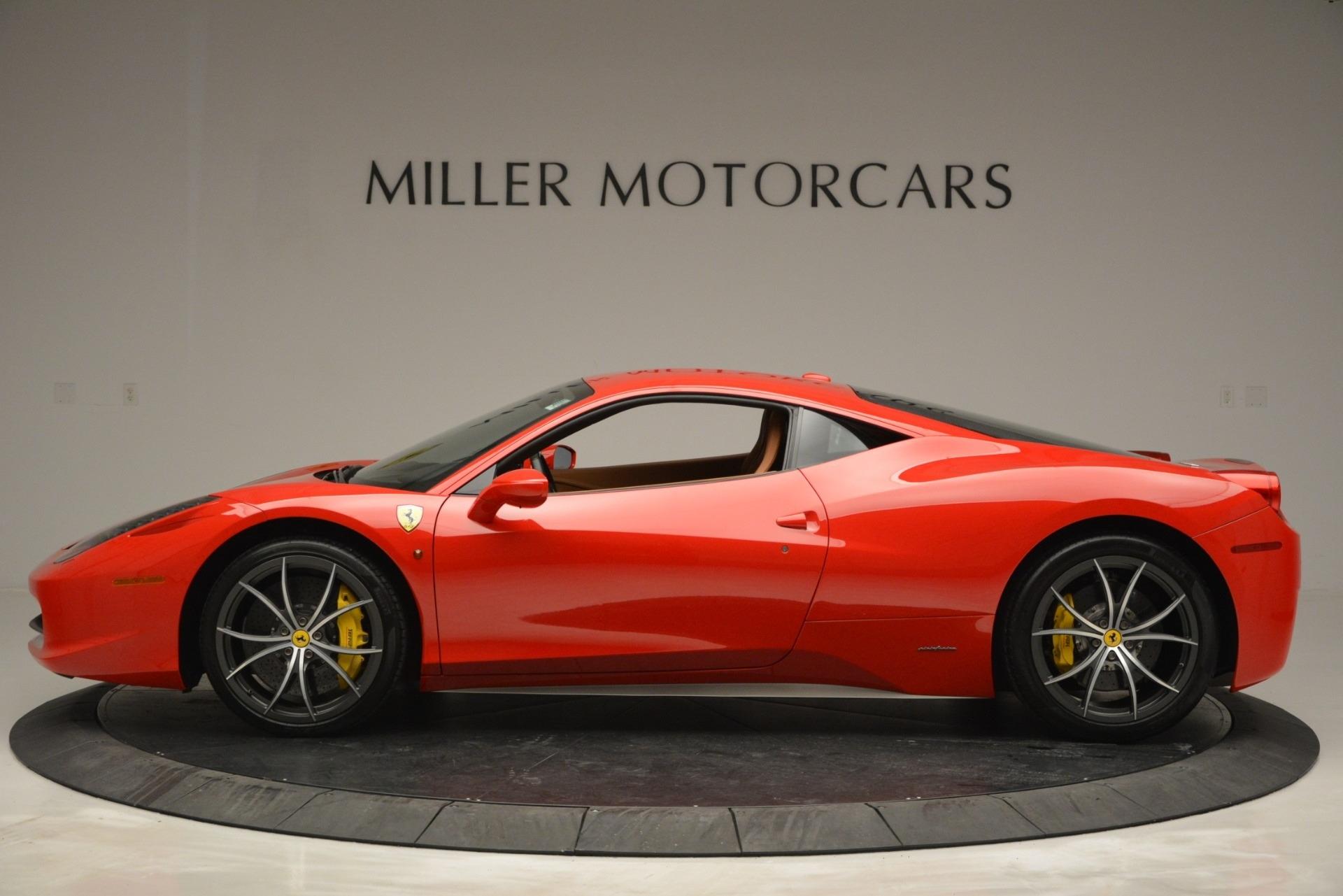 Used 2014 Ferrari 458 Italia  For Sale In Westport, CT 2920_p3