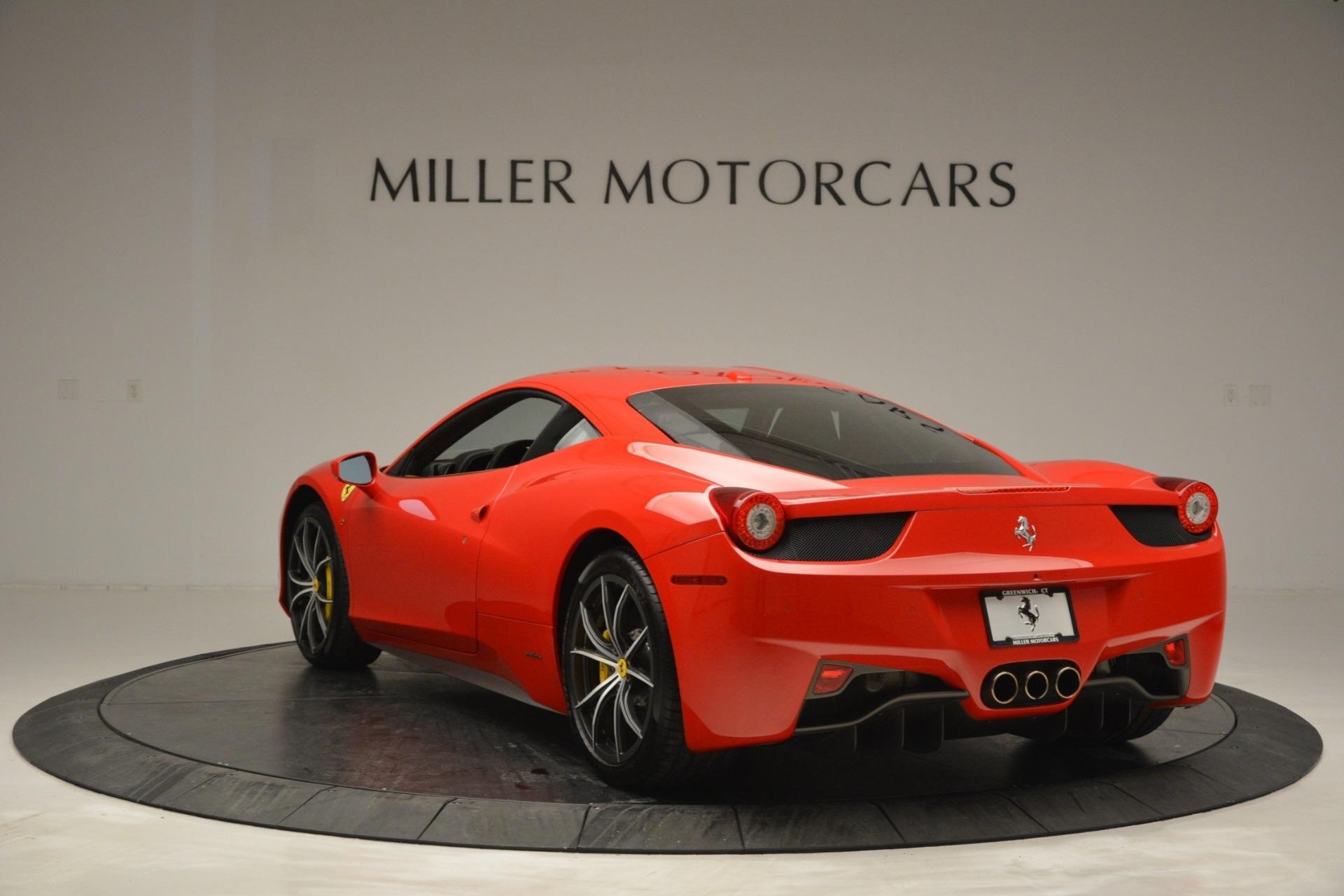 Used 2014 Ferrari 458 Italia  For Sale In Westport, CT 2920_p5