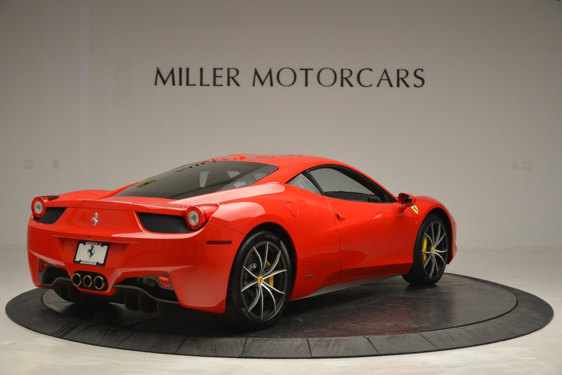 Used 2014 Ferrari 458 Italia  For Sale In Westport, CT 2920_p7