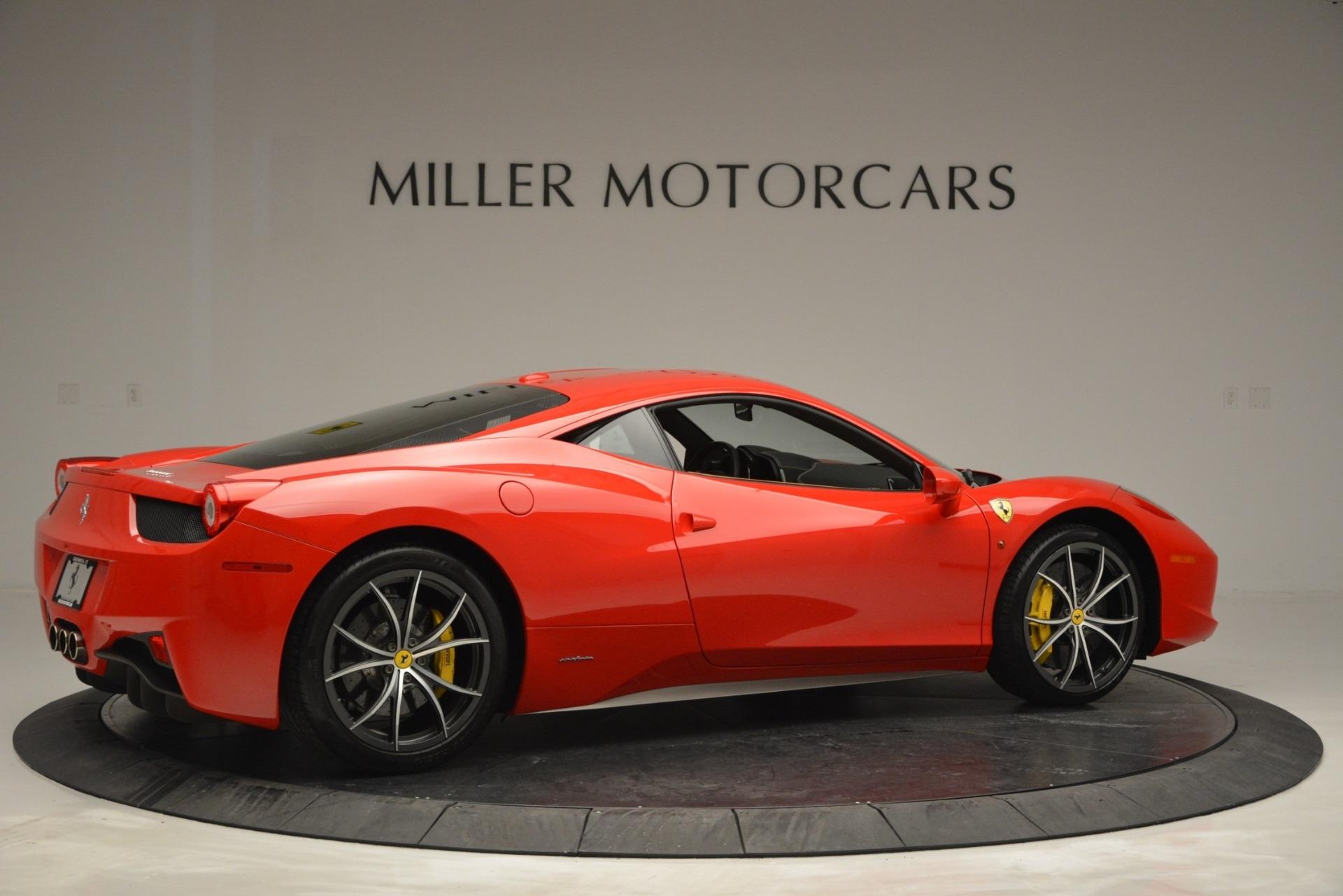 Used 2014 Ferrari 458 Italia  For Sale In Westport, CT 2920_p8