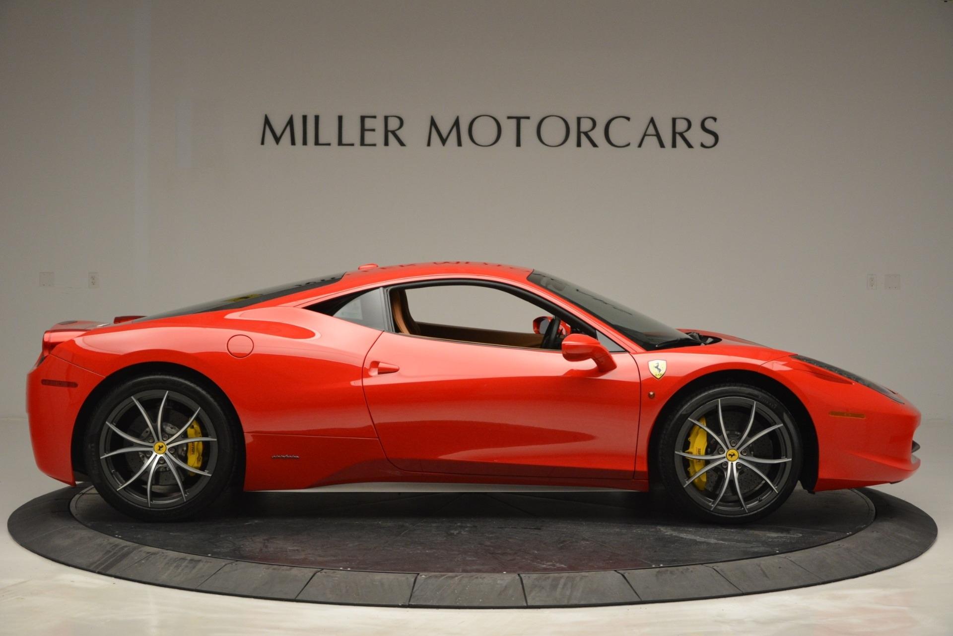 Used 2014 Ferrari 458 Italia  For Sale In Westport, CT 2920_p9
