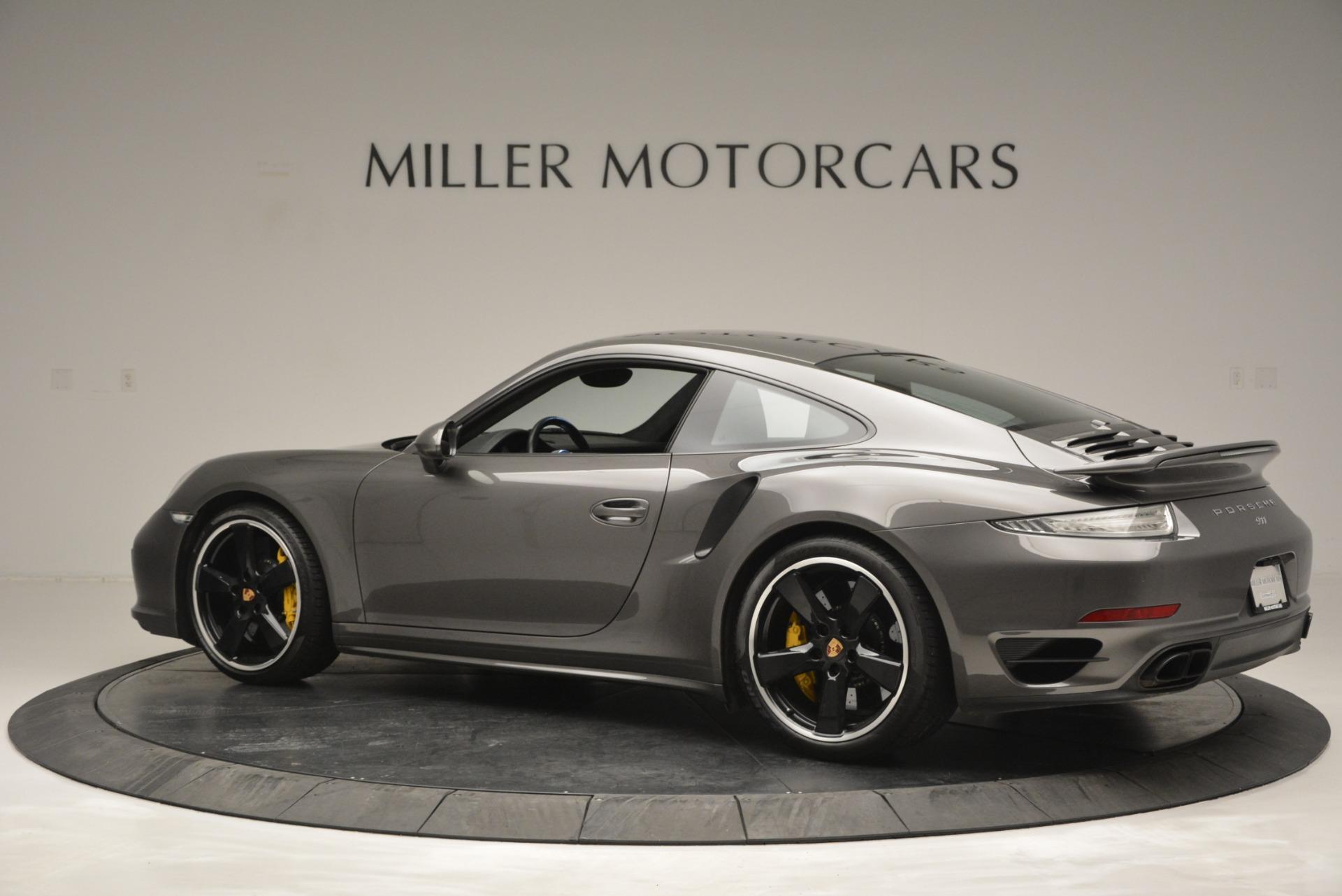 Used 2015 Porsche 911 Turbo S For Sale In Westport, CT 2923_p4