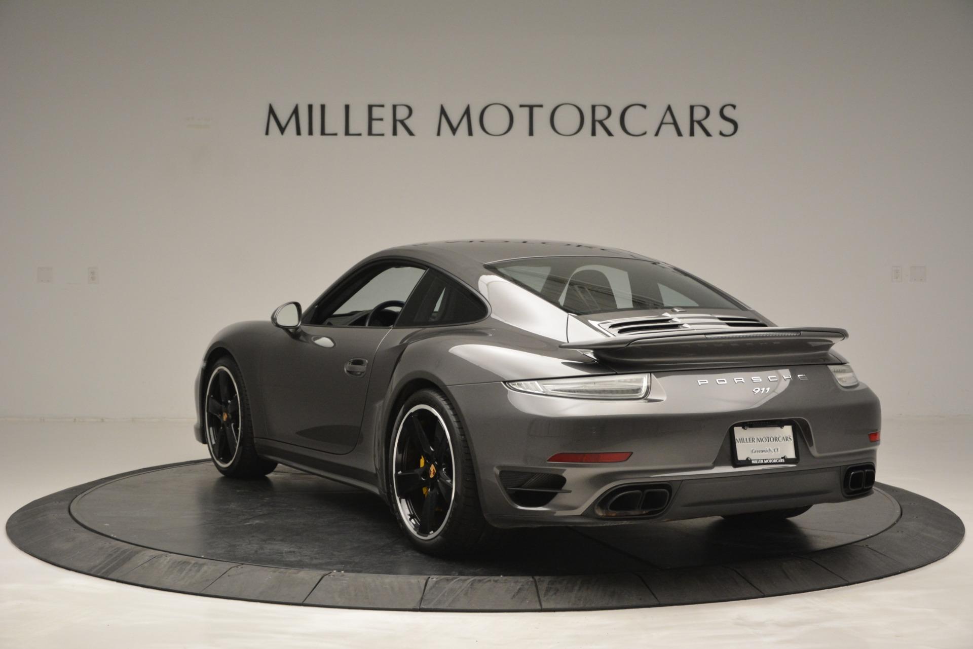 Used 2015 Porsche 911 Turbo S For Sale In Westport, CT 2923_p5