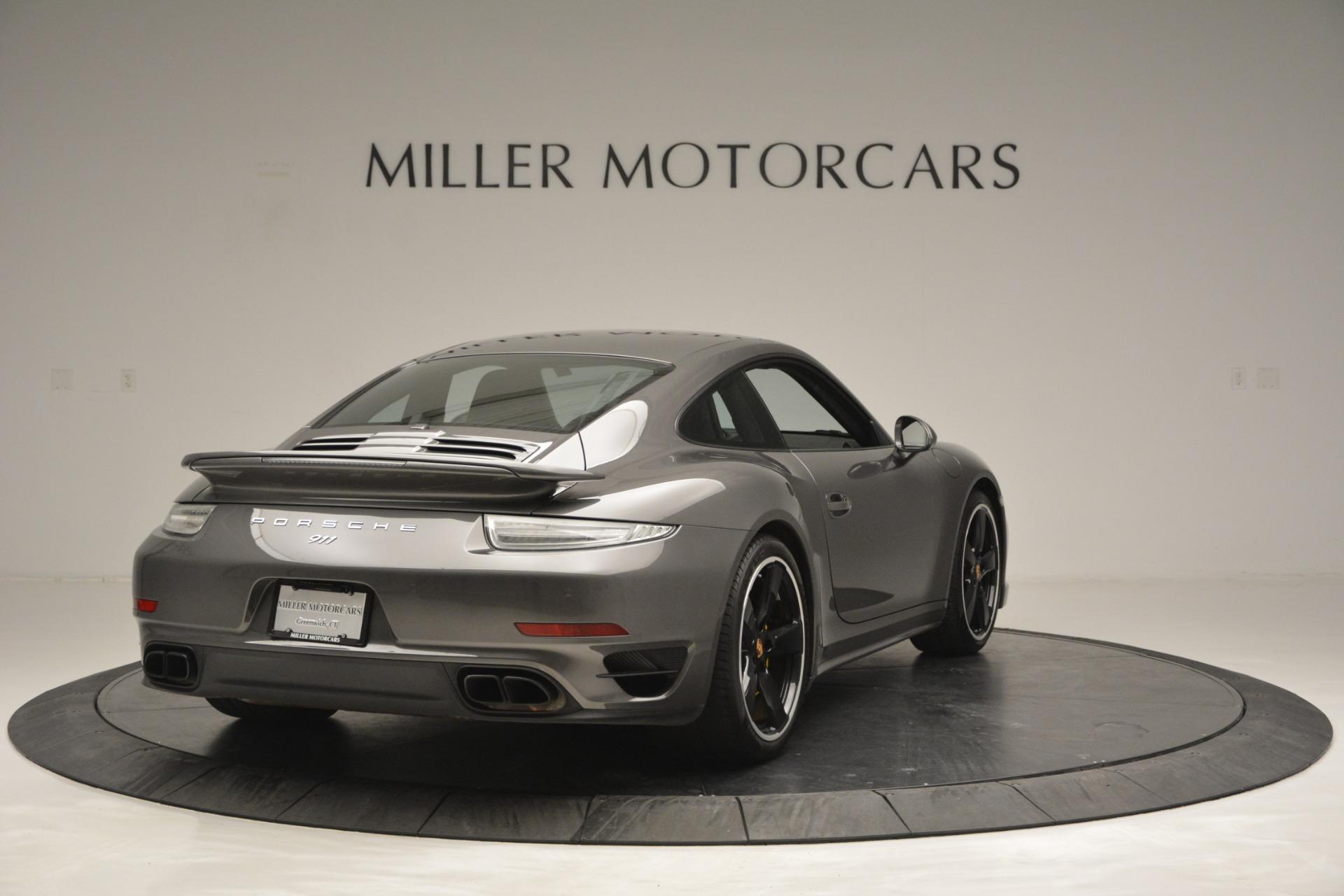 Used 2015 Porsche 911 Turbo S For Sale In Westport, CT 2923_p7