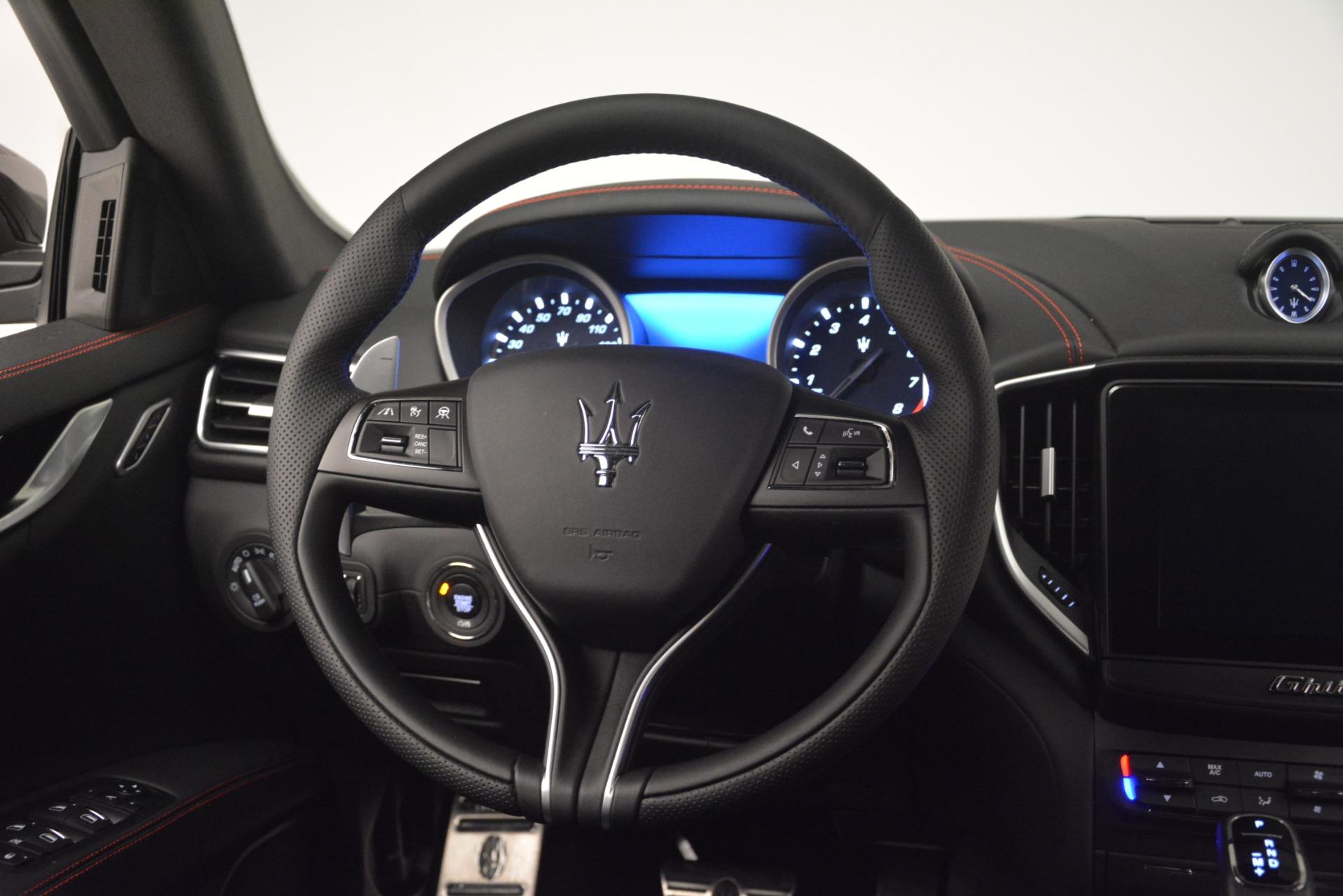 New 2019 Maserati Ghibli S Q4 GranSport For Sale In Westport, CT 2926_p25