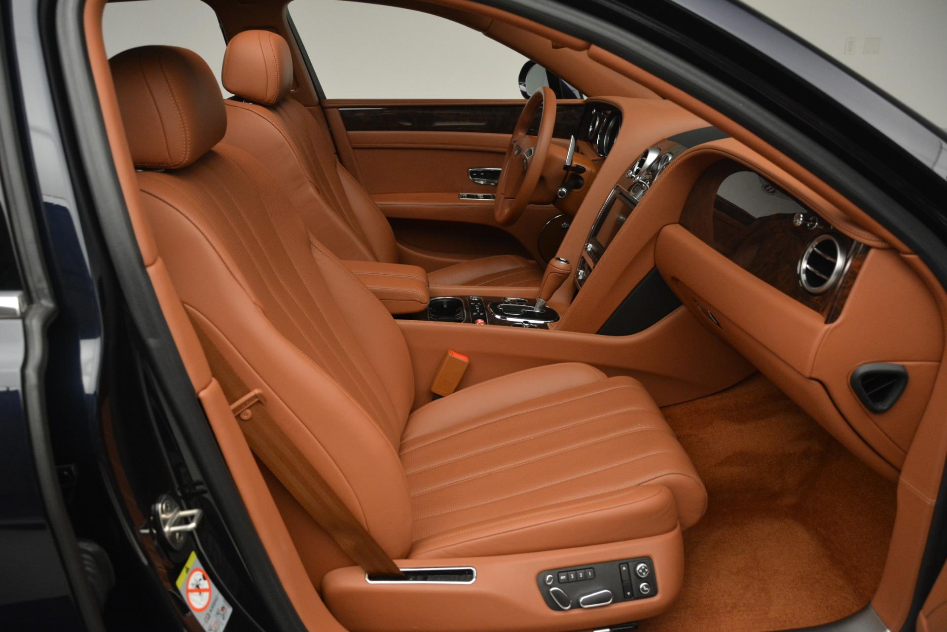 Used 2016 Bentley Flying Spur W12 For Sale In Westport, CT 2943_p28