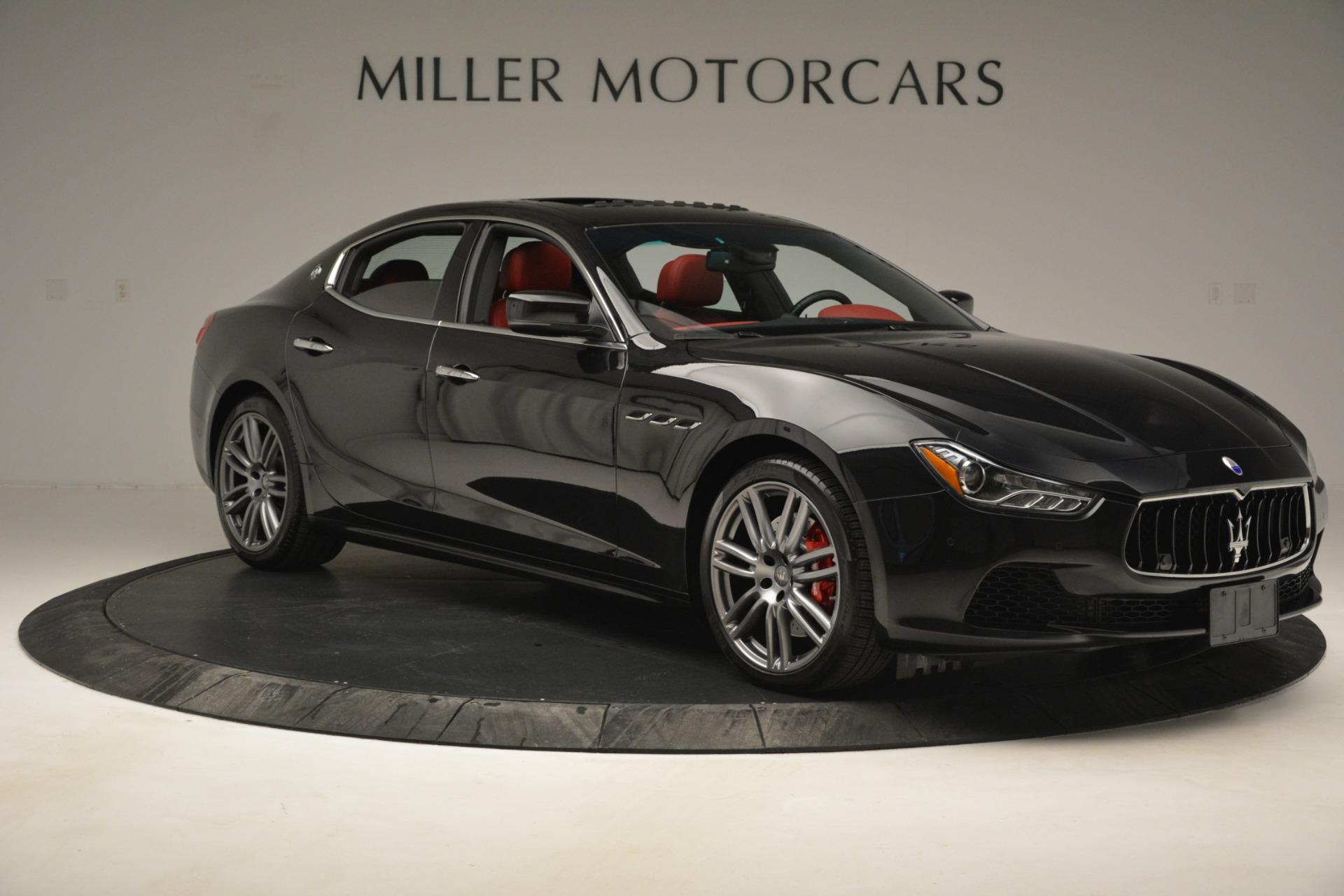 Used 2016 Maserati Ghibli S Q4 For Sale In Westport, CT 2945_p13