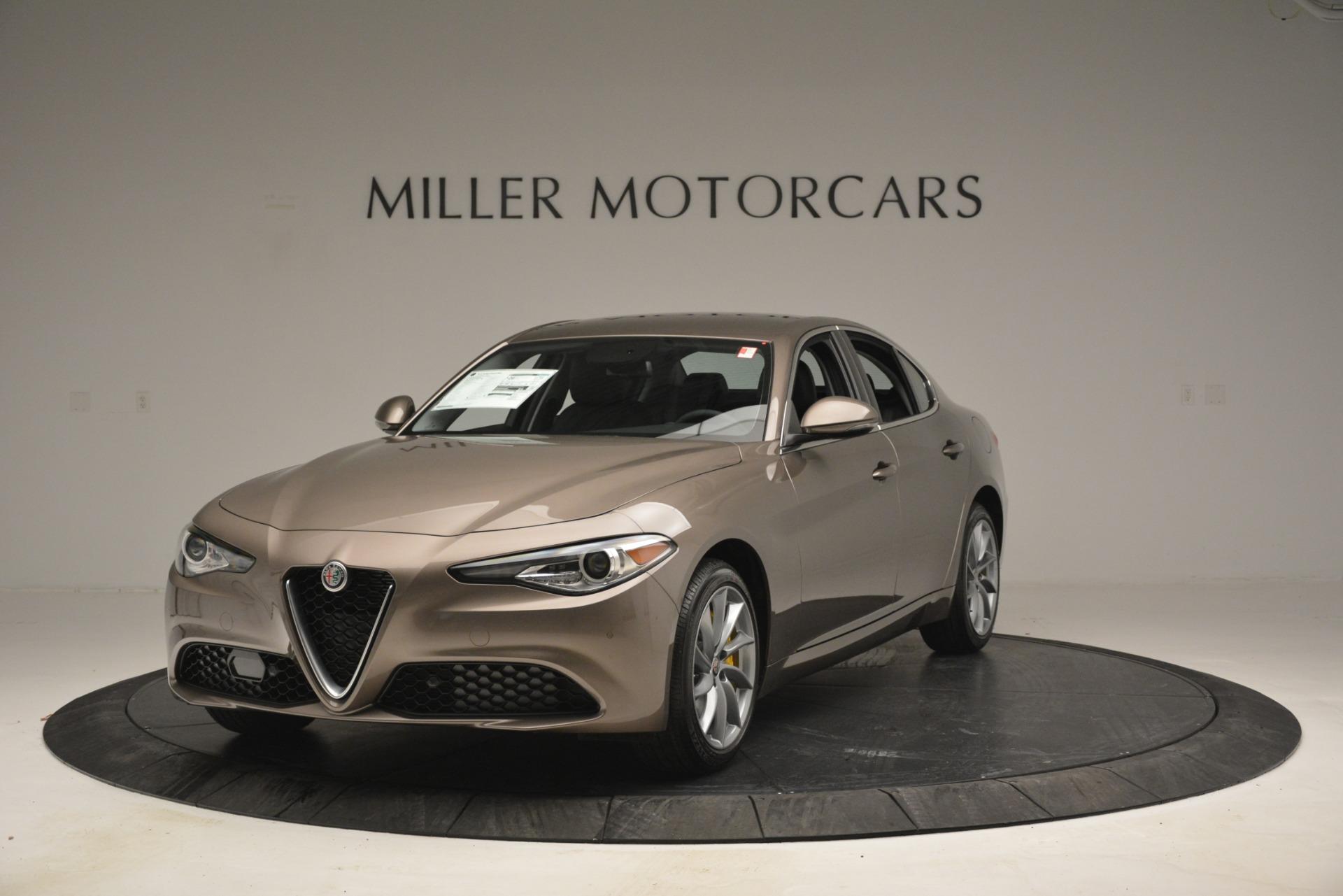 New 2019 Alfa Romeo Giulia Q4 For Sale In Westport, CT 2947_main
