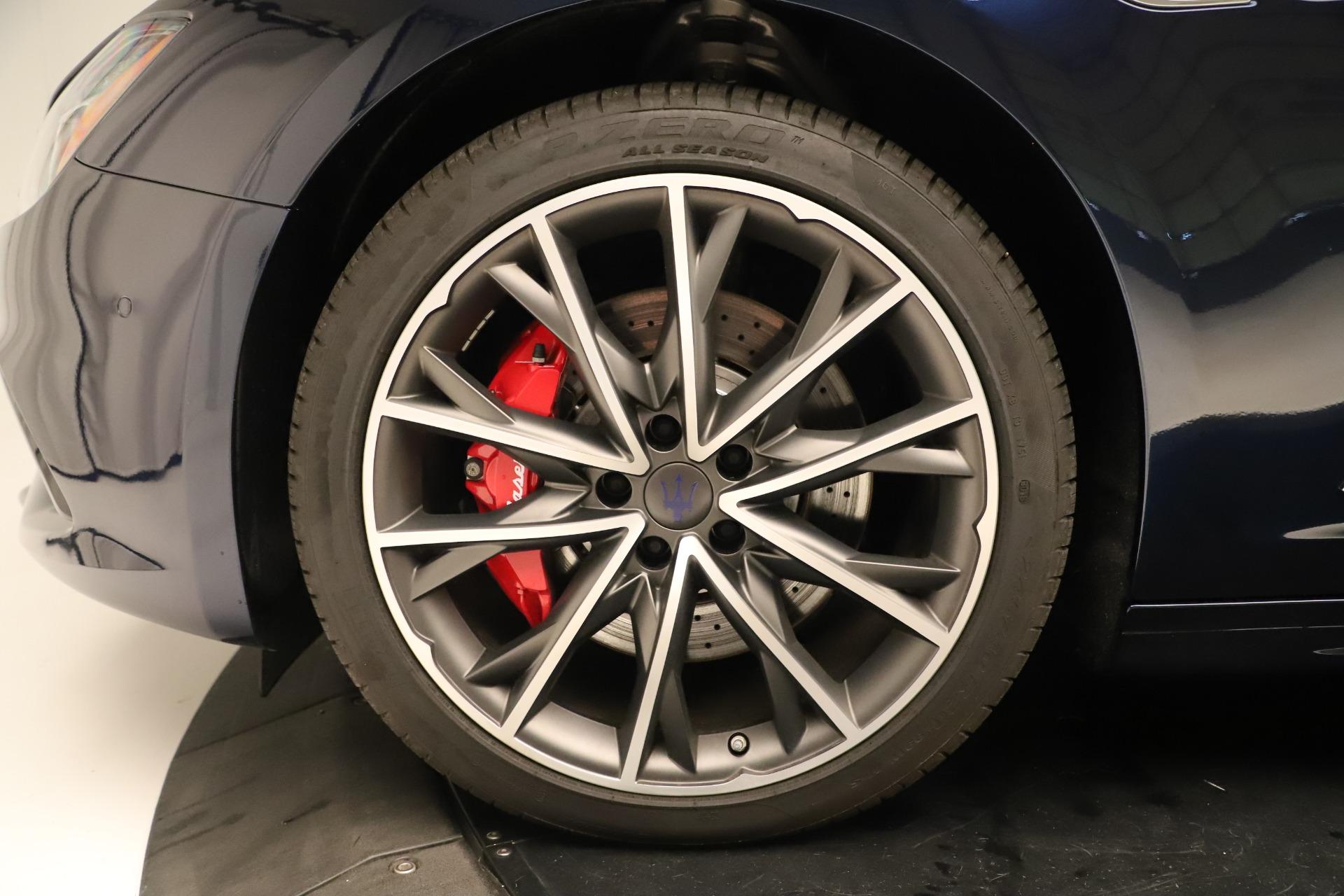 New 2019 Maserati Ghibli S Q4 GranSport For Sale In Westport, CT 2949_p30