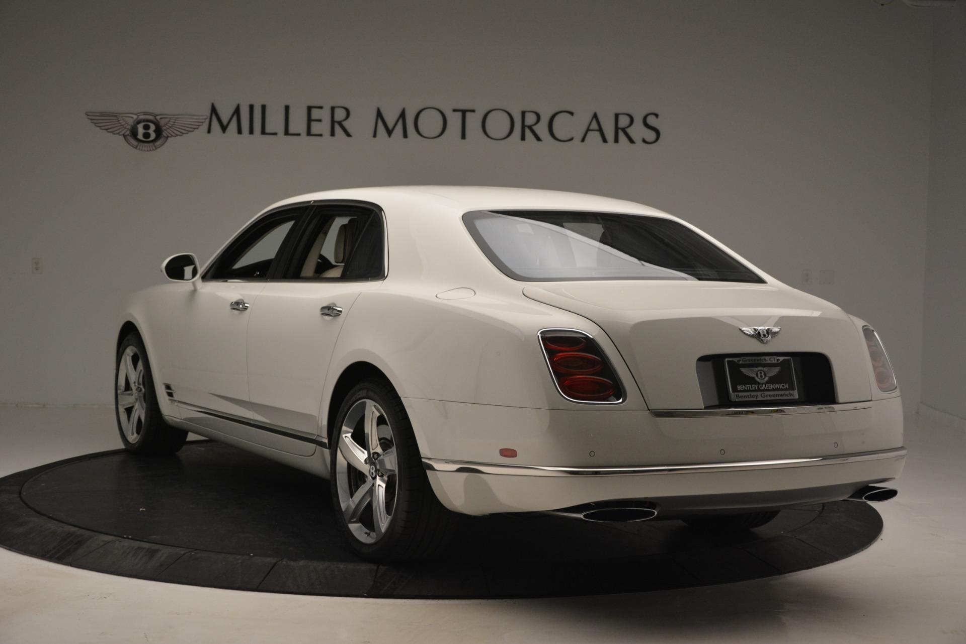 Used 2016 Bentley Mulsanne Speed For Sale In Westport, CT 2960_p5