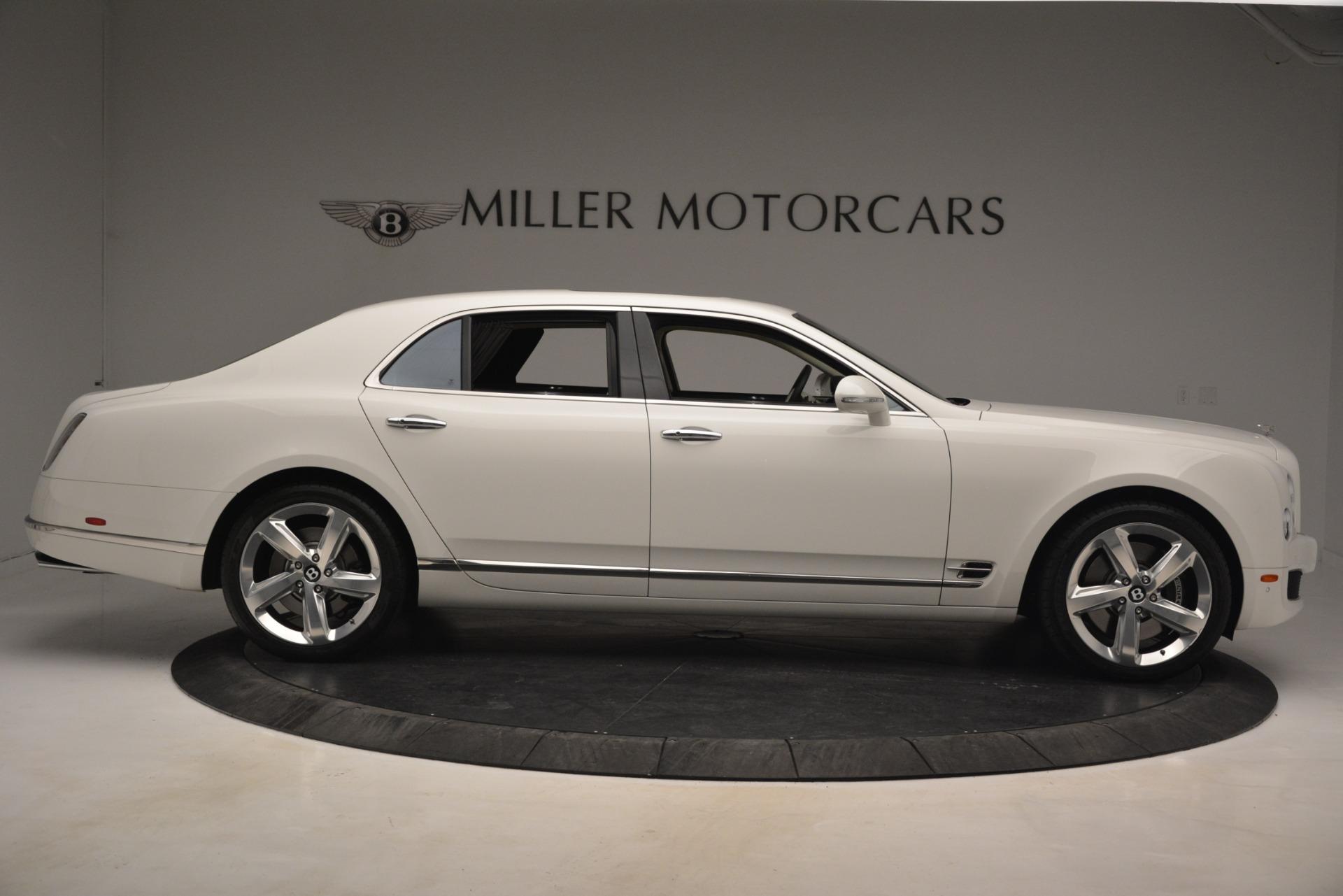 Used 2016 Bentley Mulsanne Speed For Sale In Westport, CT 2960_p9