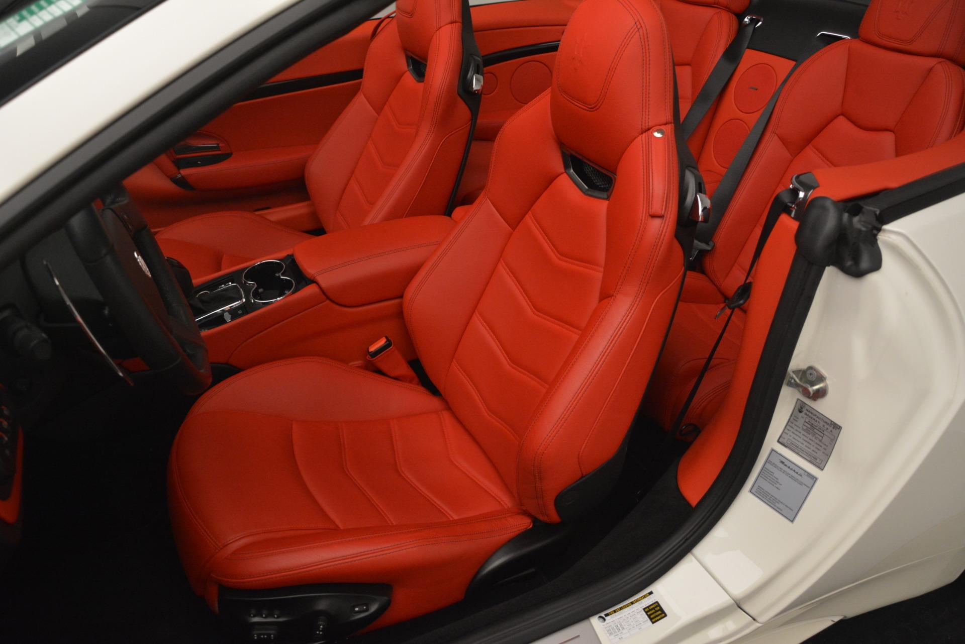 Used 2017 Maserati GranTurismo Sport For Sale In Westport, CT 2962_p25