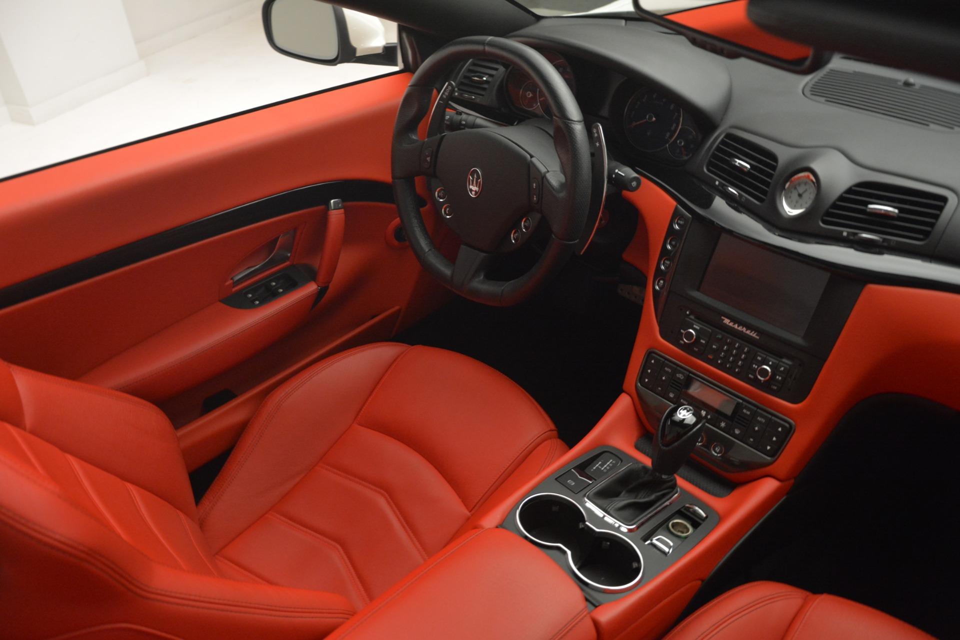 Used 2017 Maserati GranTurismo Sport For Sale In Westport, CT 2962_p27
