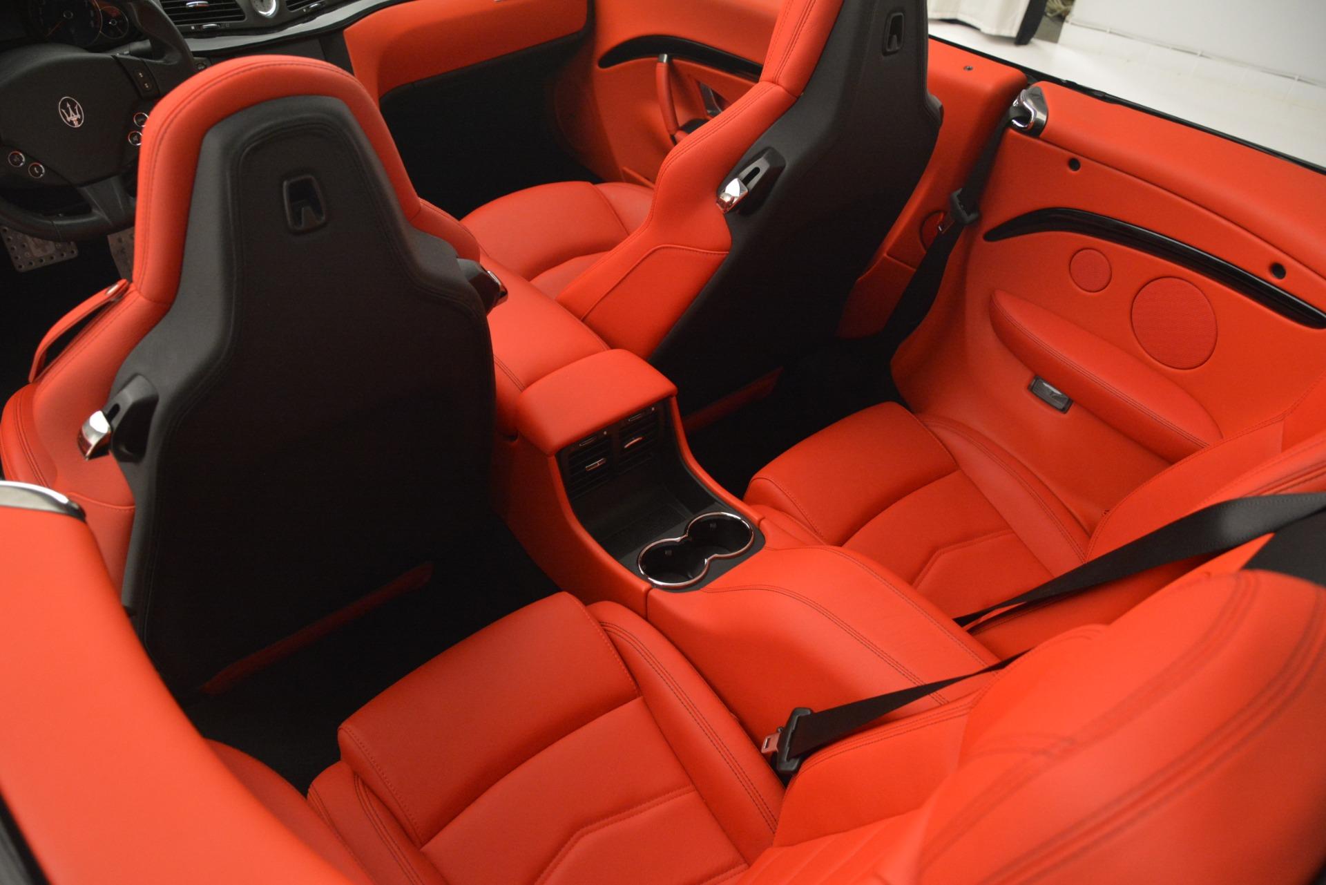 Used 2017 Maserati GranTurismo Sport For Sale In Westport, CT 2962_p30