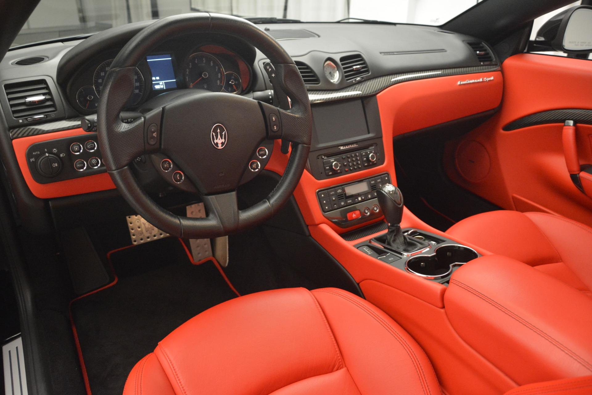 Used 2015 Maserati GranTurismo Sport For Sale In Westport, CT 2963_p26