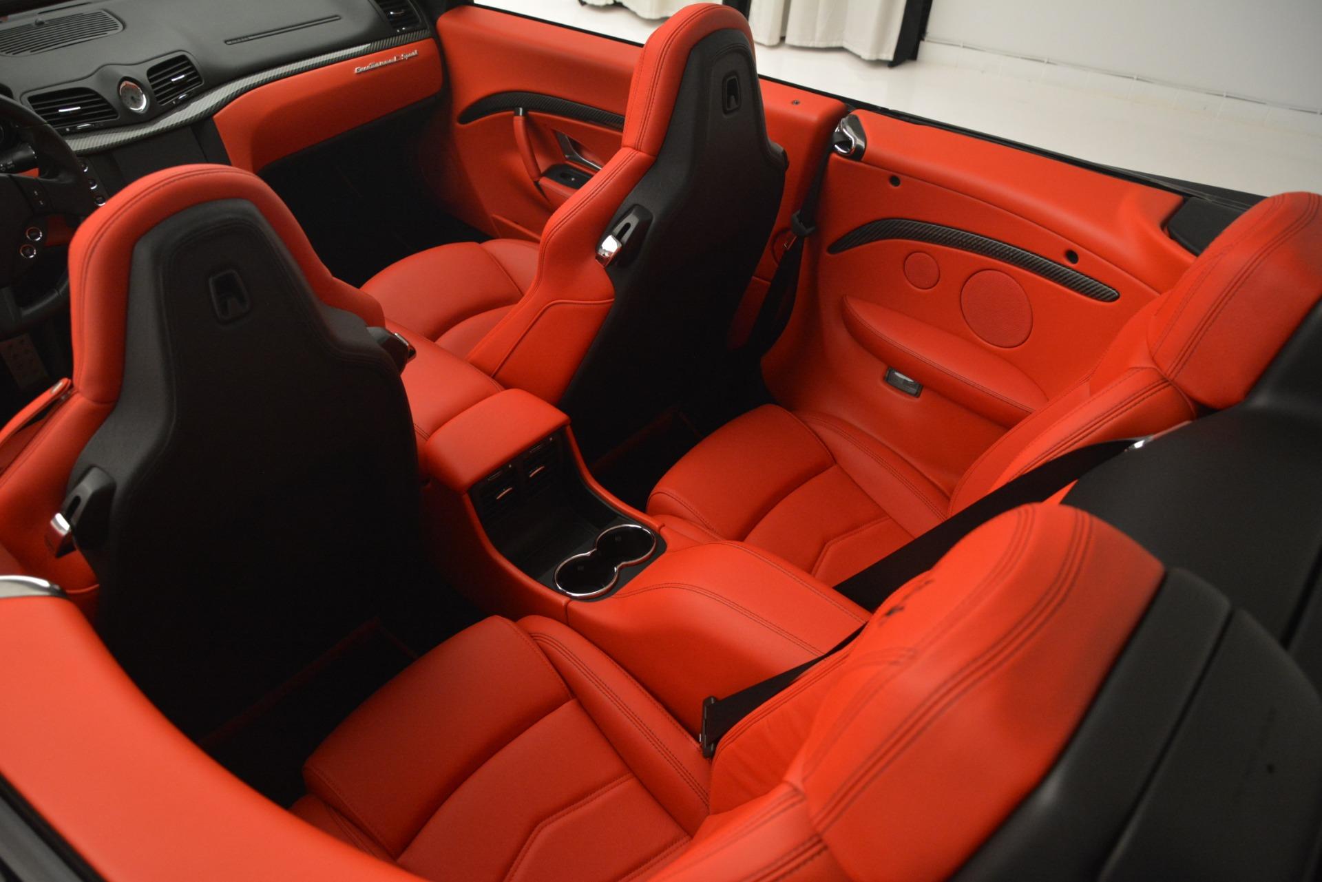 Used 2015 Maserati GranTurismo Sport For Sale In Westport, CT 2963_p29