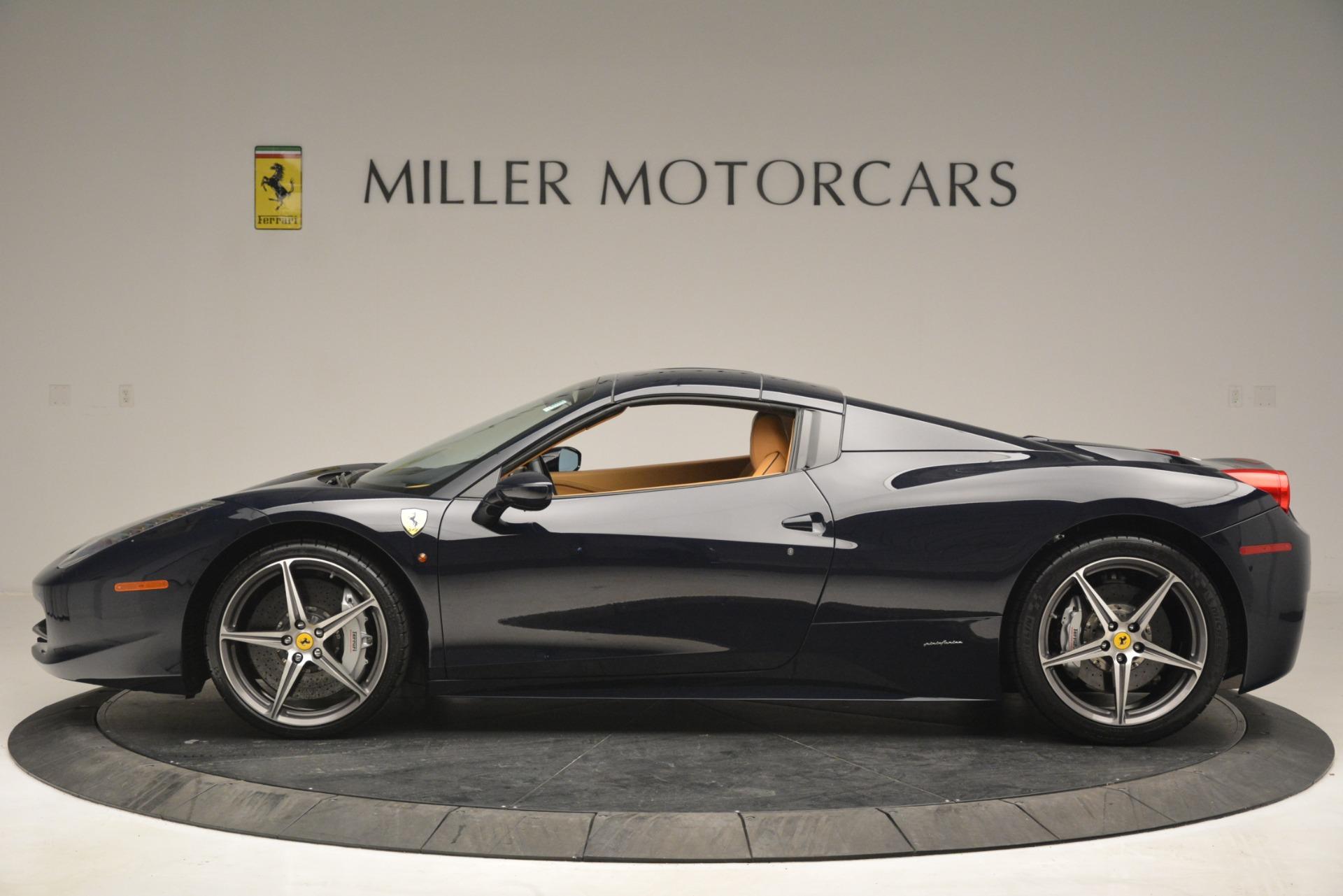 Used 2014 Ferrari 458 Spider  For Sale In Westport, CT 2964_p15