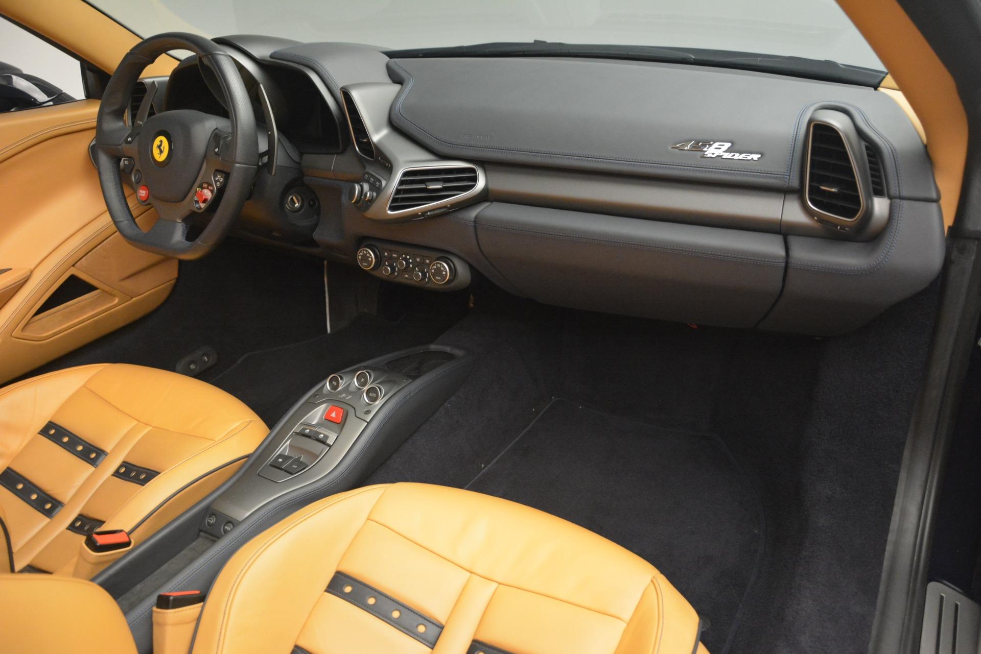 Used 2014 Ferrari 458 Spider  For Sale In Westport, CT 2964_p29
