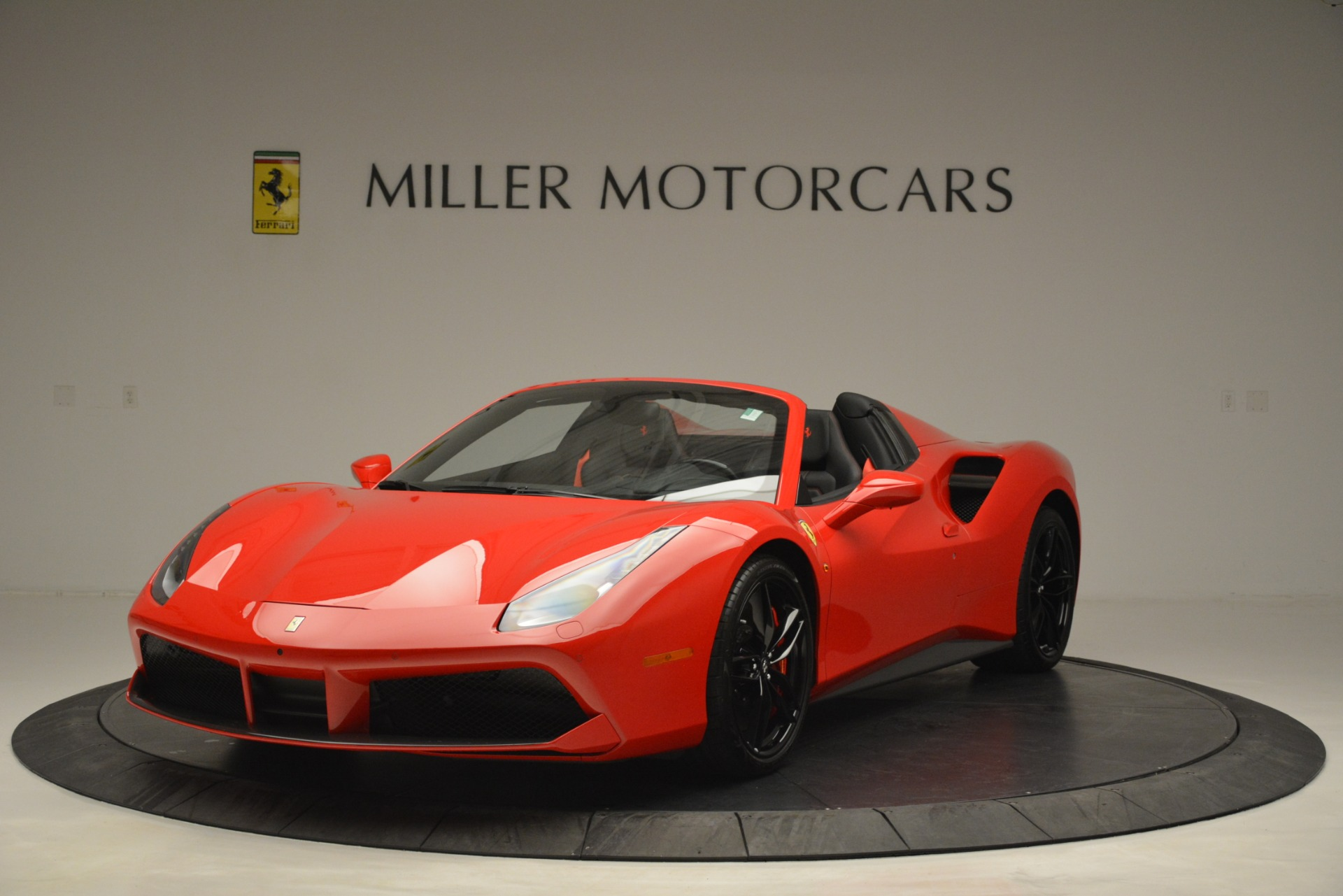 Used 2017 Ferrari 488 Spider  For Sale In Westport, CT 2965_main