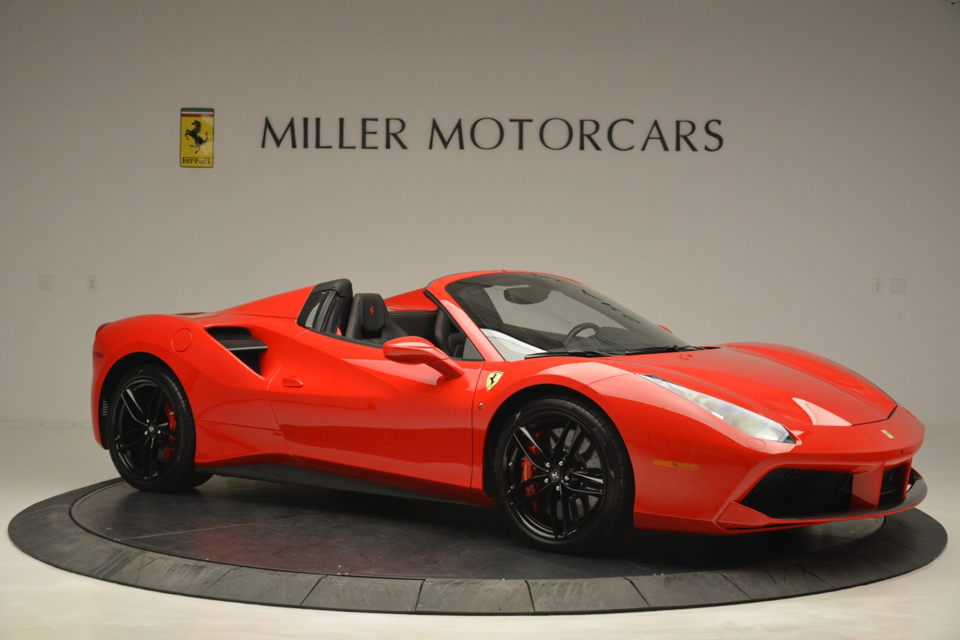 Used 2017 Ferrari 488 Spider  For Sale In Westport, CT 2965_p10
