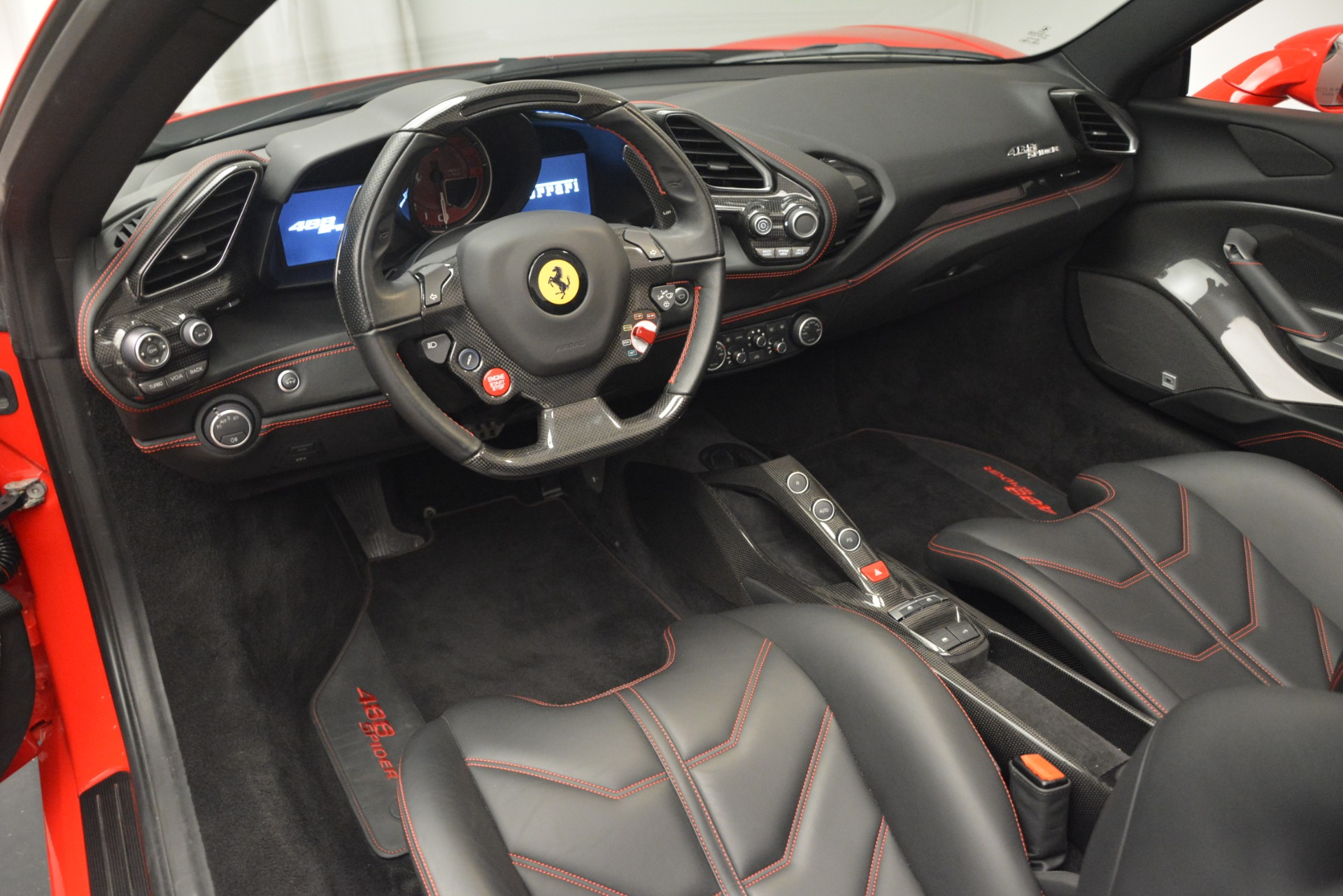 Used 2017 Ferrari 488 Spider  For Sale In Westport, CT 2965_p25