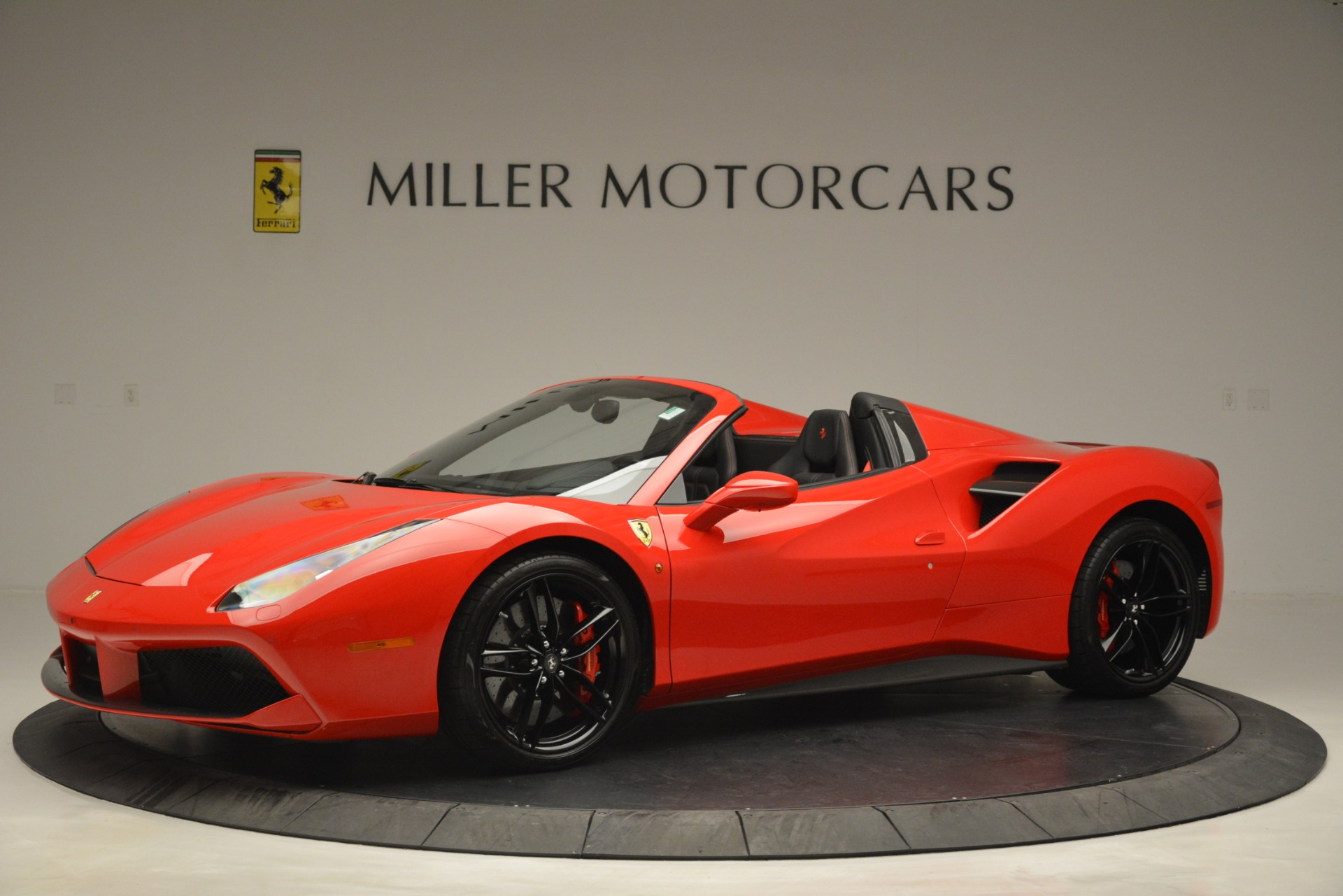 Used 2017 Ferrari 488 Spider  For Sale In Westport, CT 2965_p2