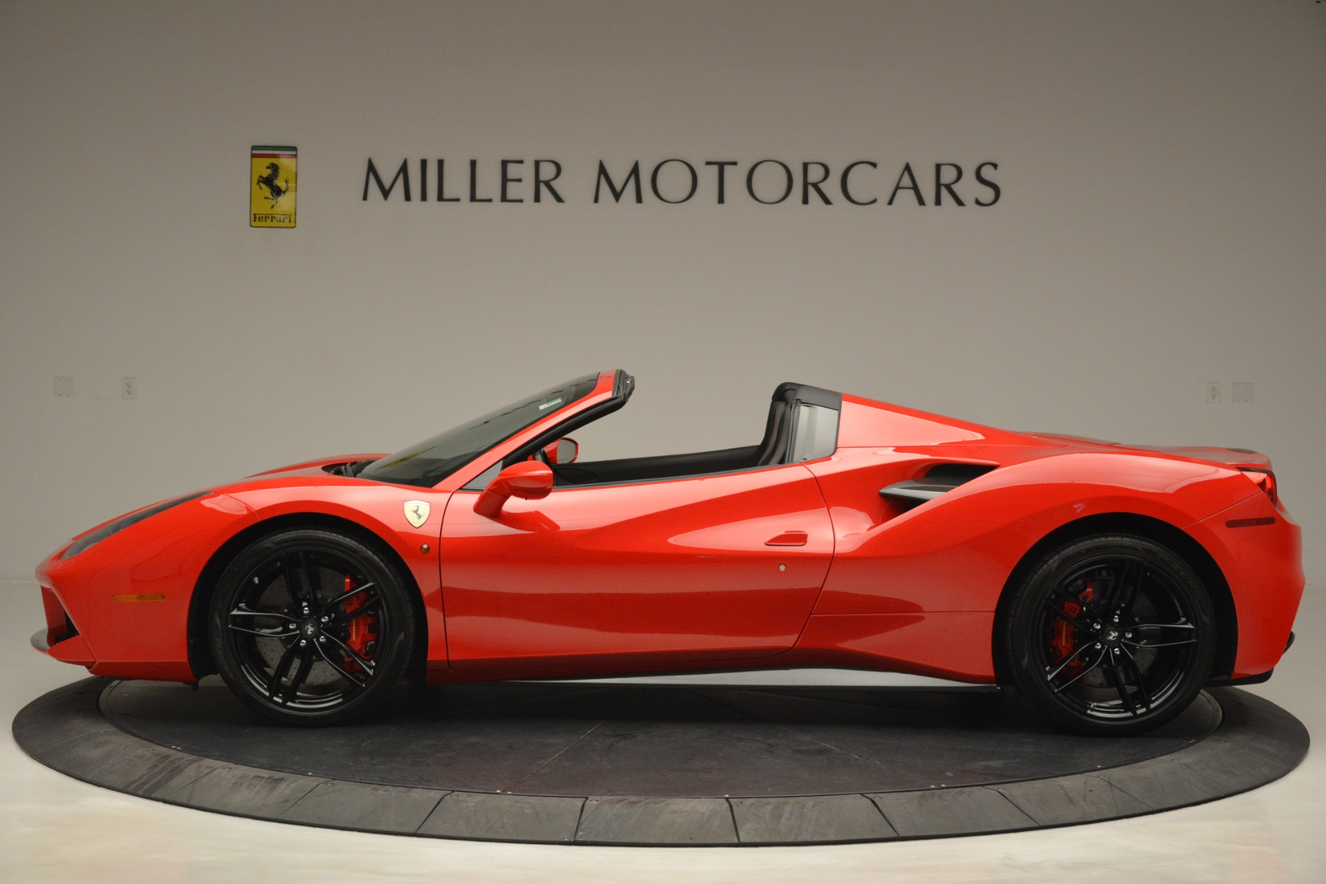 Used 2017 Ferrari 488 Spider  For Sale In Westport, CT 2965_p3
