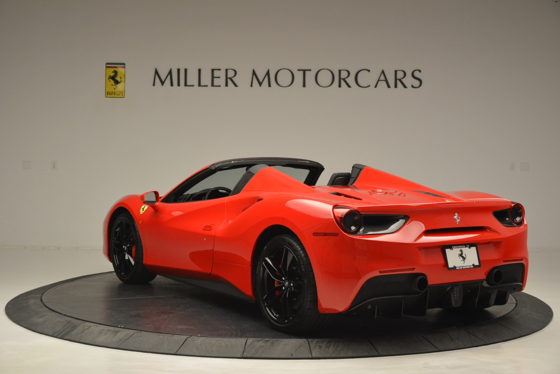 Used 2017 Ferrari 488 Spider  For Sale In Westport, CT 2965_p5
