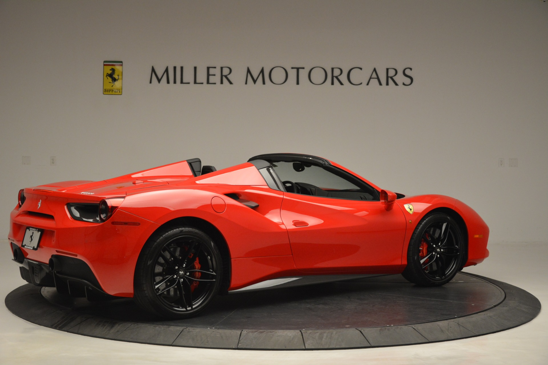 Used 2017 Ferrari 488 Spider  For Sale In Westport, CT 2965_p8