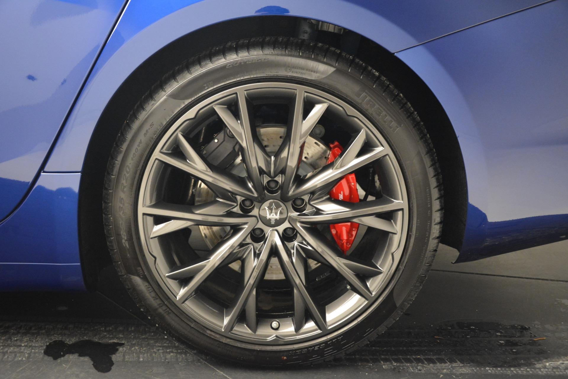 New 2019 Maserati Ghibli S Q4 GranSport For Sale In Westport, CT 2978_p25