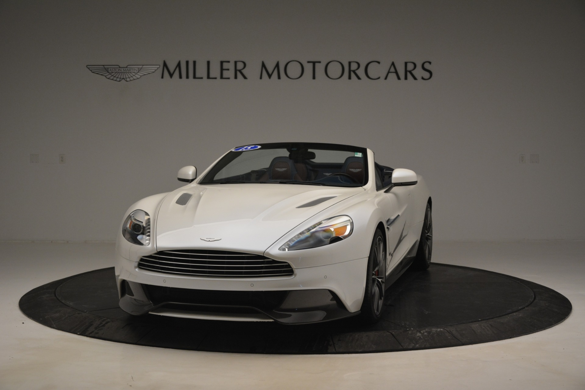 Used 2015 Aston Martin Vanquish Convertible For Sale In Westport, CT 2982_p2