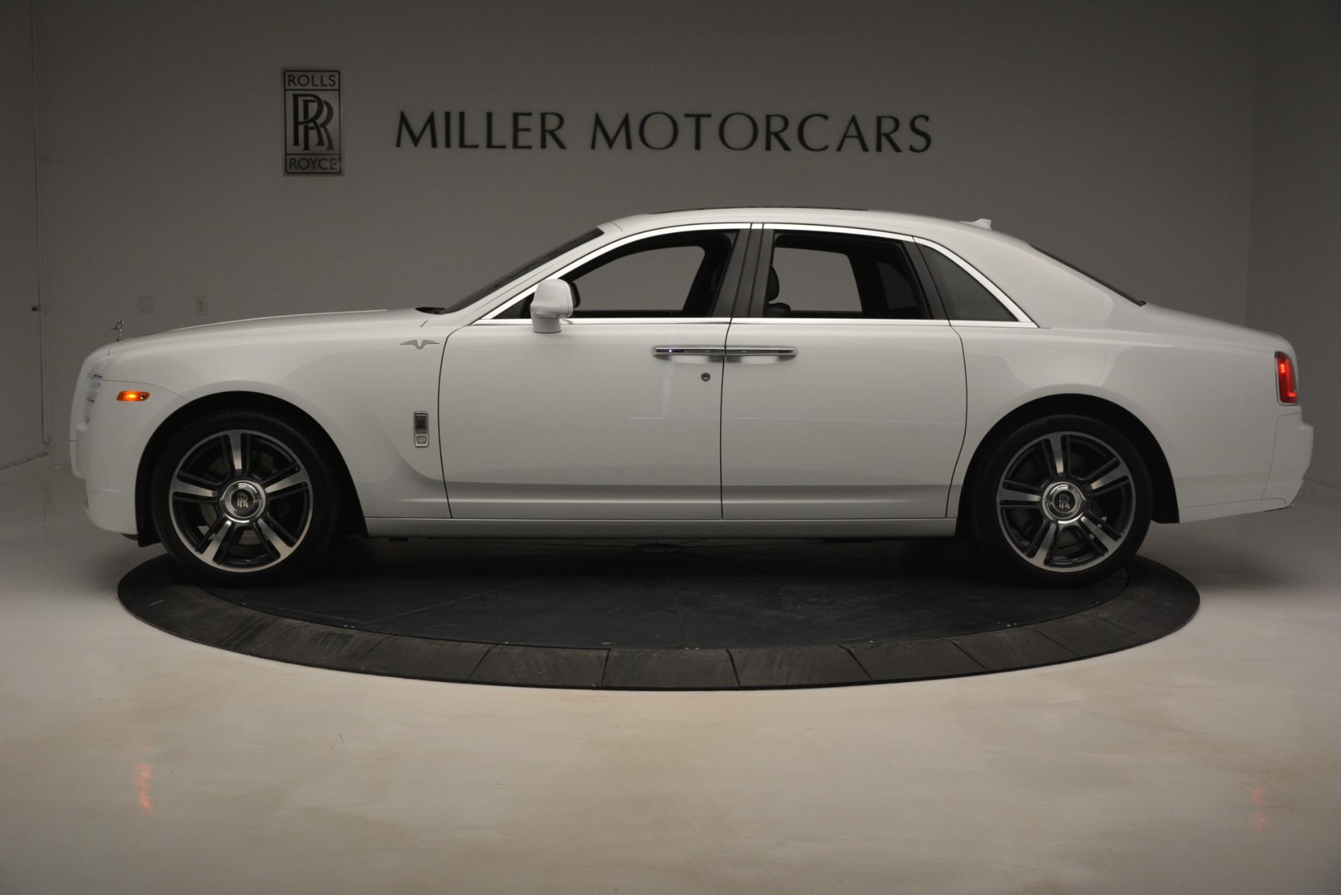Used 2014 Rolls-Royce Ghost V-Spec For Sale In Westport, CT 2989_p4