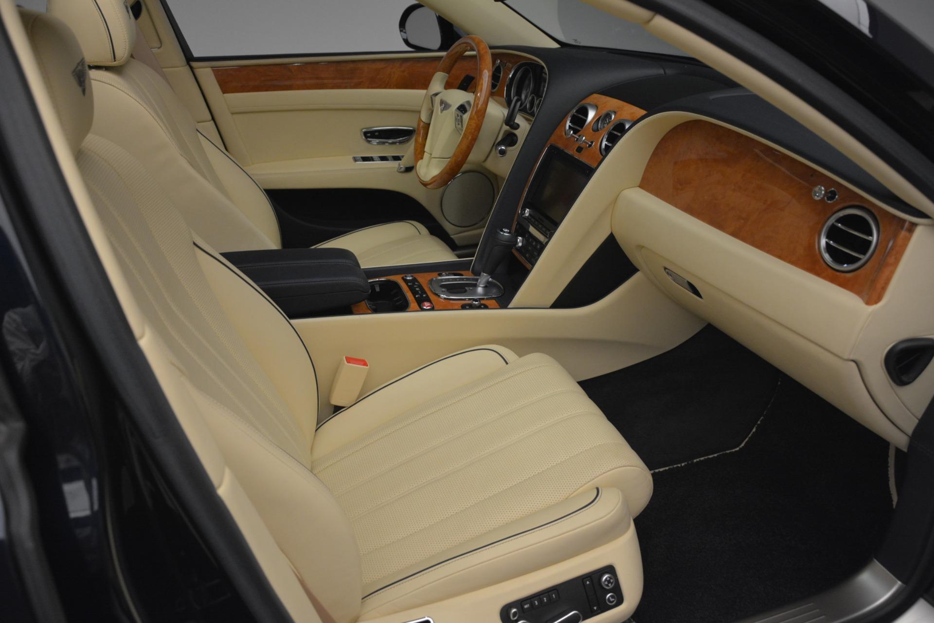 Used 2015 Bentley Flying Spur V8 For Sale In Westport, CT 2997_p29