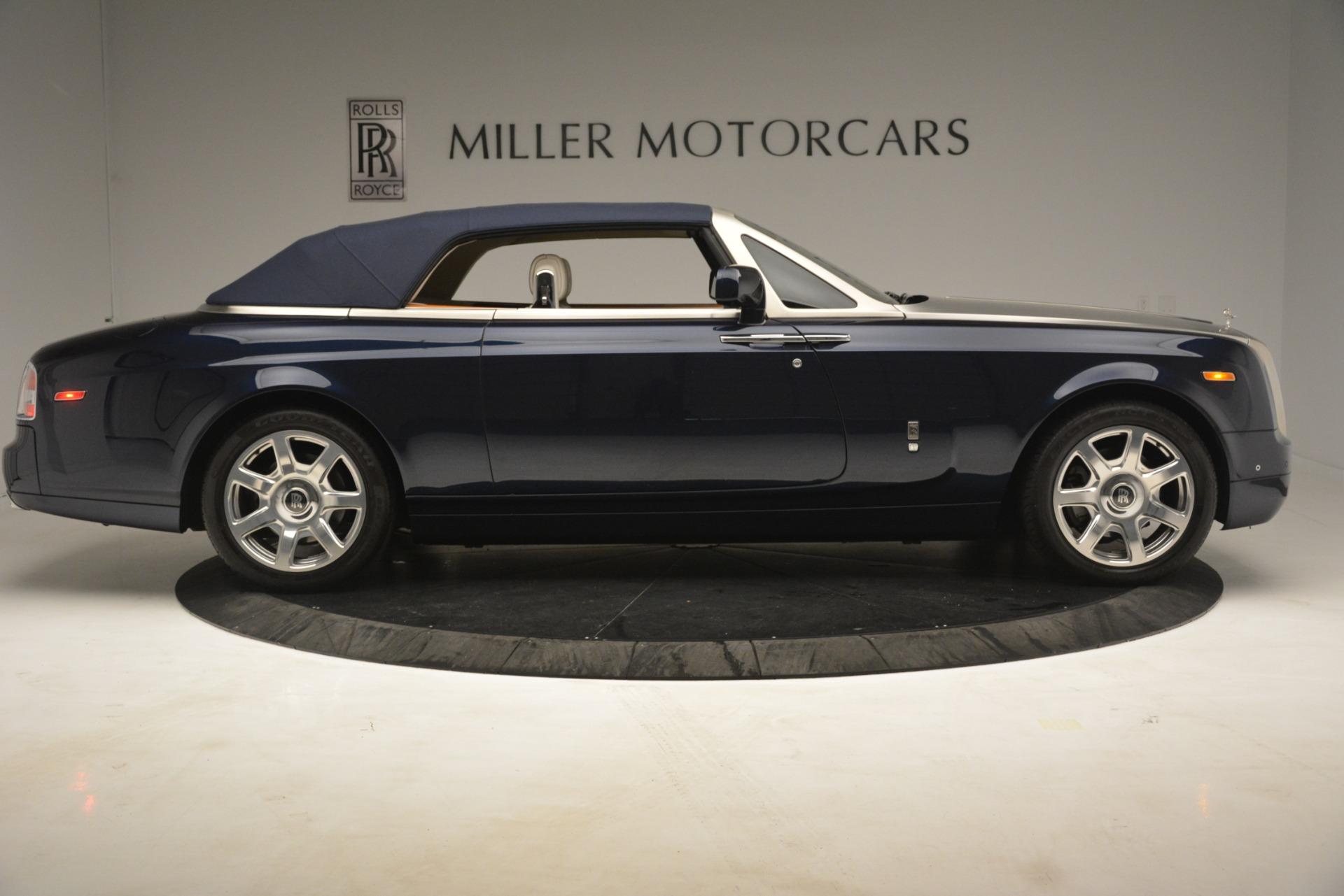 Used 2013 Rolls-Royce Phantom Drophead Coupe  For Sale In Westport, CT 2999_p25