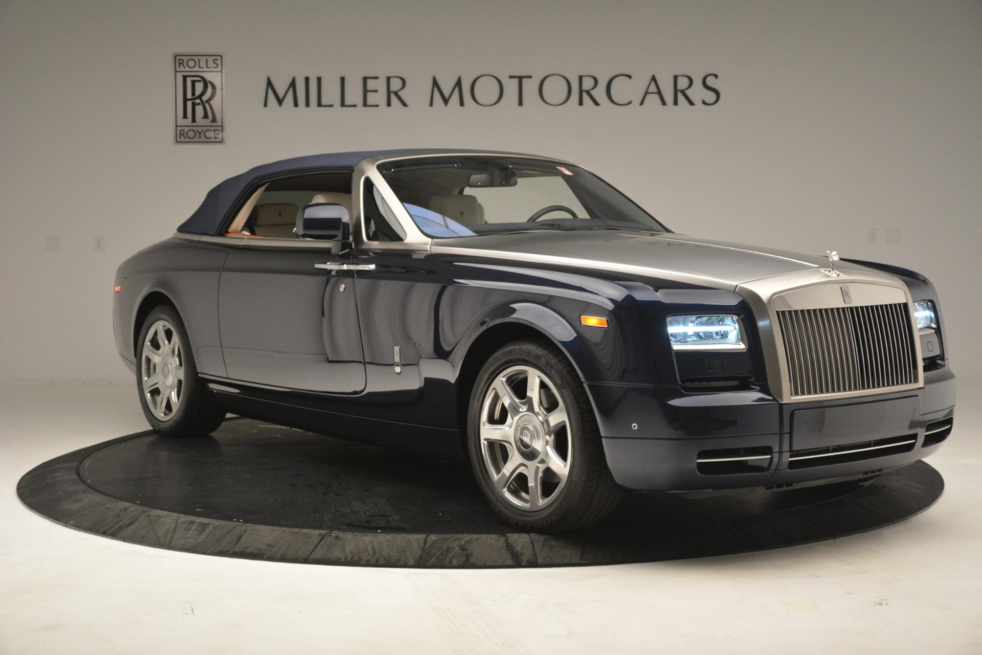 Used 2013 Rolls-Royce Phantom Drophead Coupe  For Sale In Westport, CT 2999_p27
