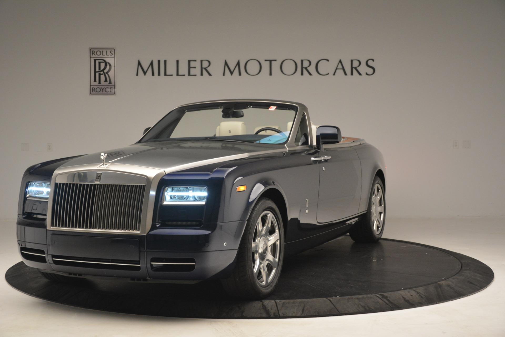 Used 2013 Rolls-Royce Phantom Drophead Coupe  For Sale In Westport, CT 2999_p3