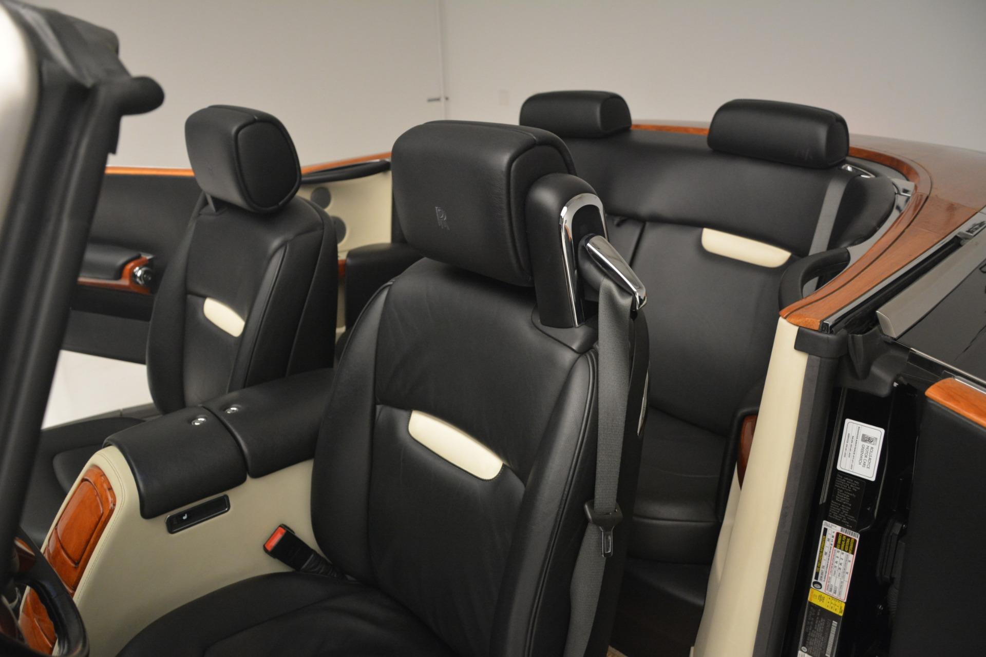Used 2008 Rolls-Royce Phantom Drophead Coupe  For Sale In Westport, CT 3000_p19
