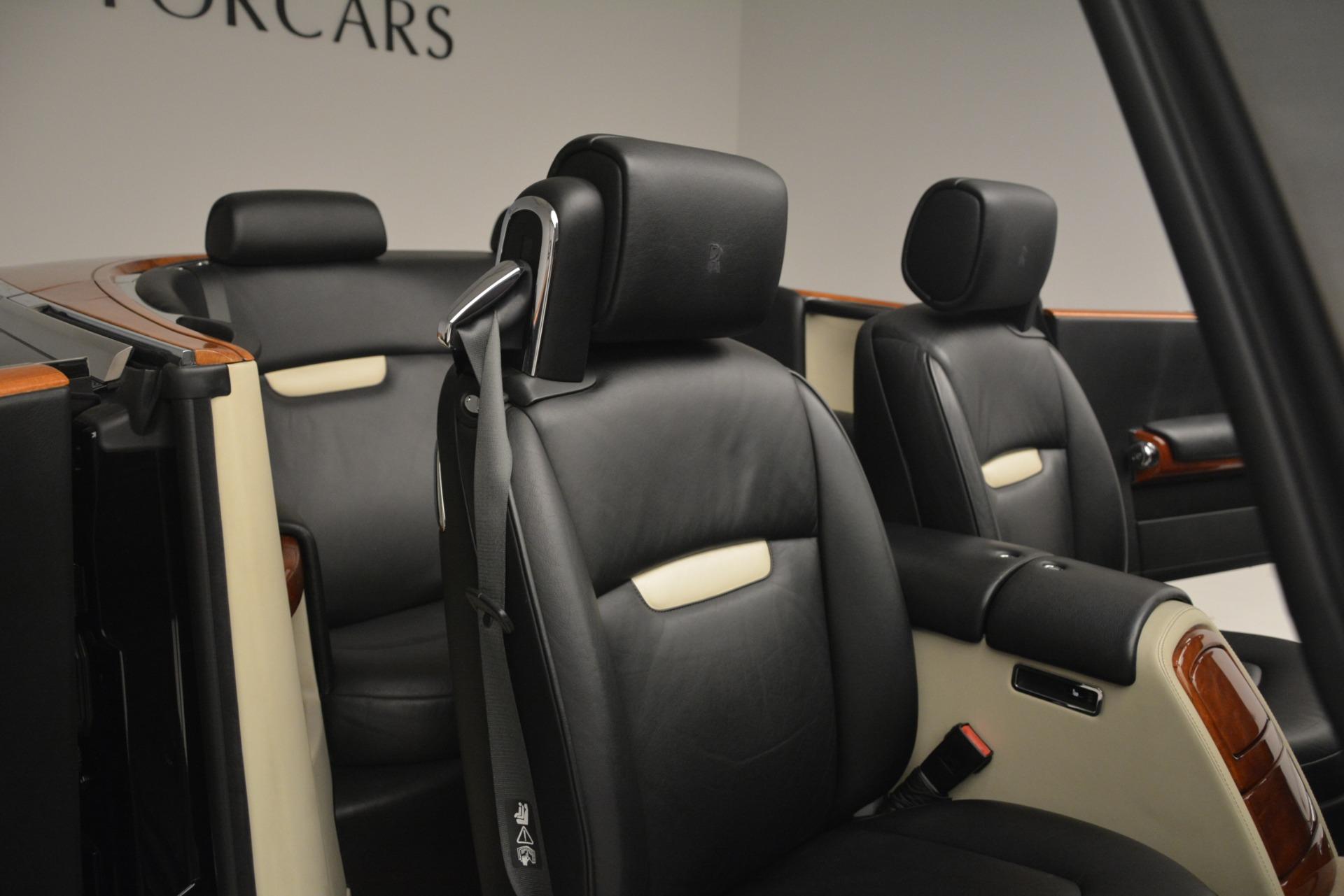 Used 2008 Rolls-Royce Phantom Drophead Coupe  For Sale In Westport, CT 3000_p21