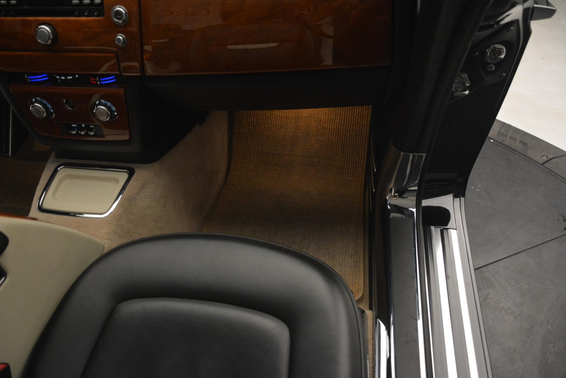 Used 2008 Rolls-Royce Phantom Drophead Coupe  For Sale In Westport, CT 3000_p26
