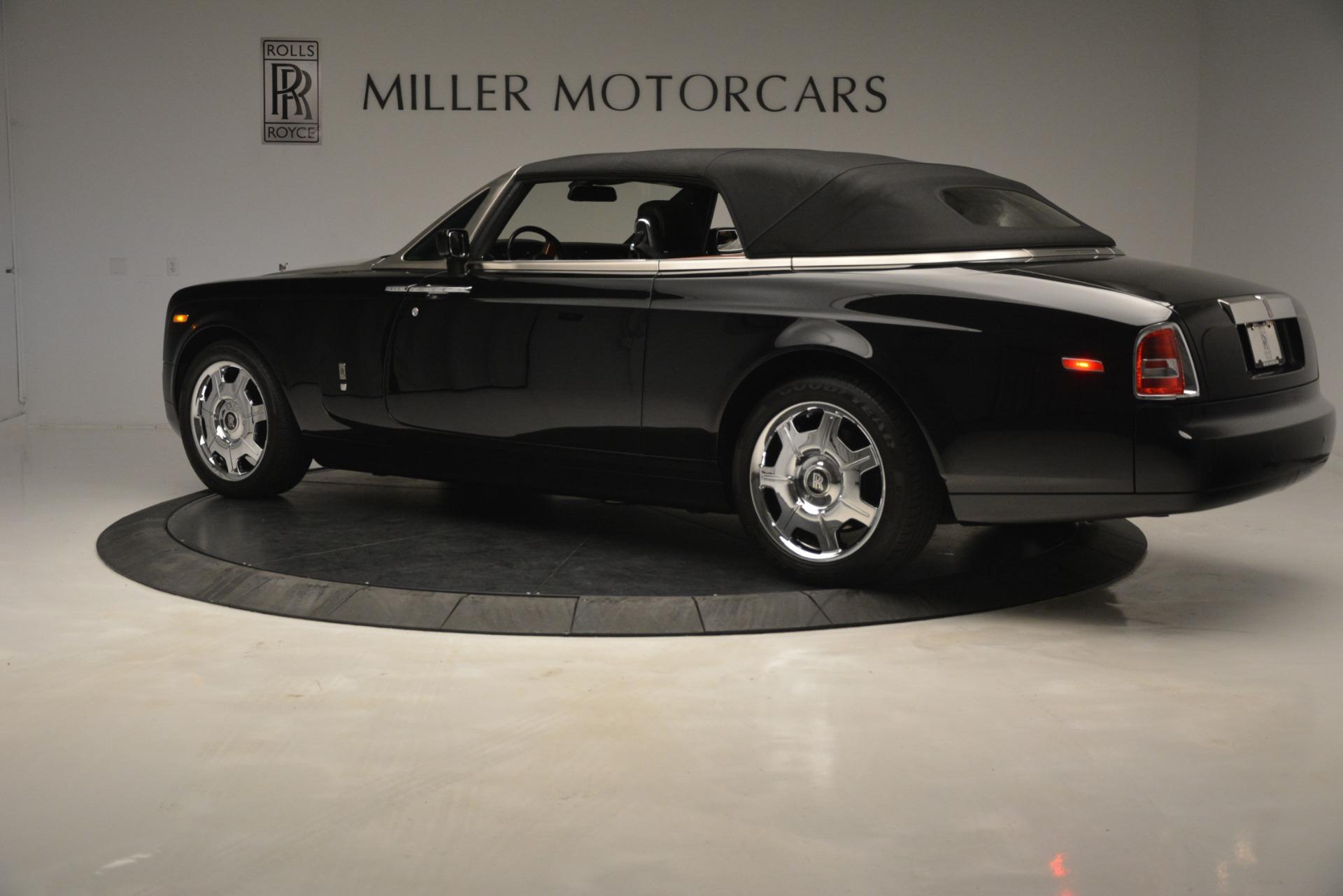 Used 2008 Rolls-Royce Phantom Drophead Coupe  For Sale In Westport, CT 3000_p36