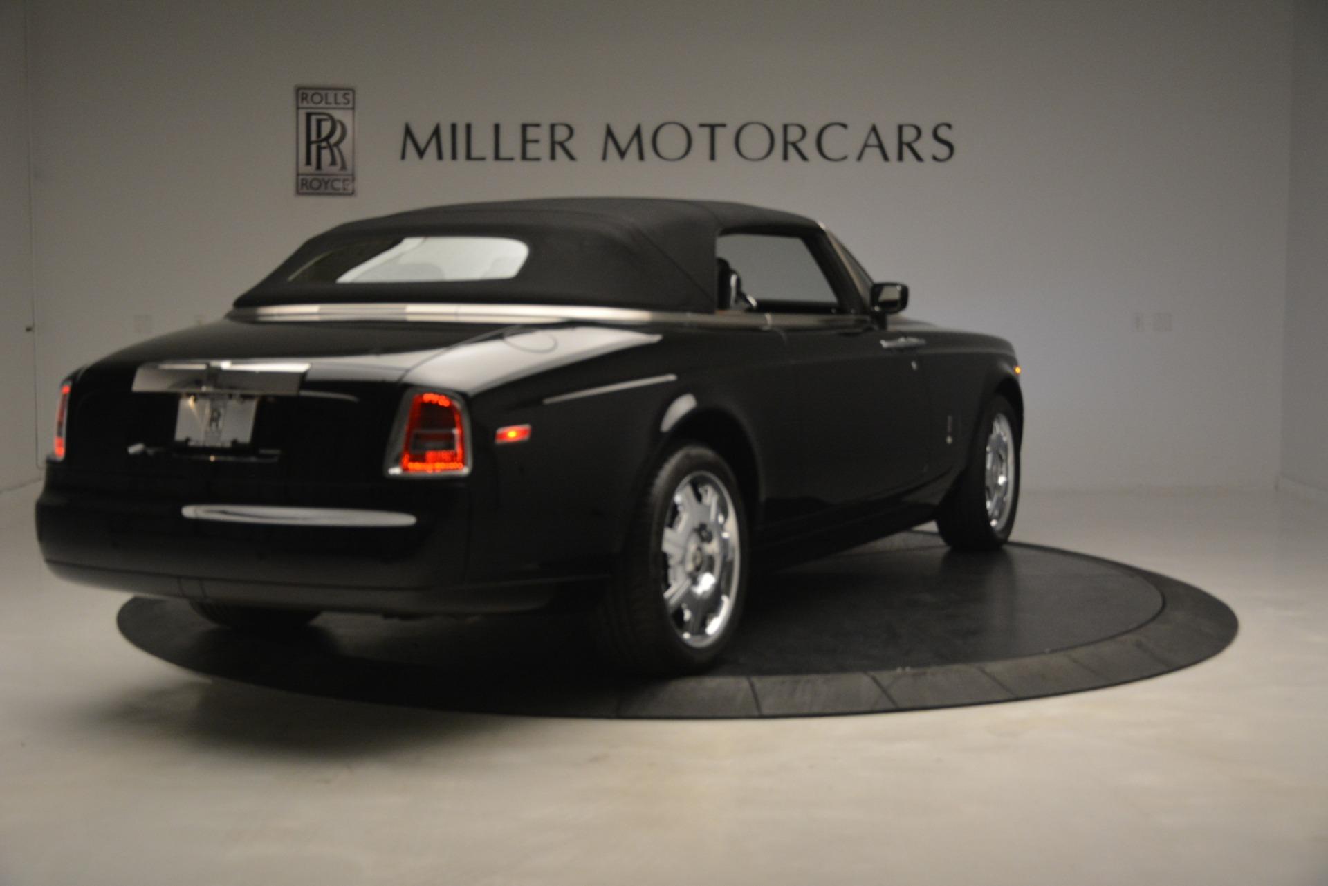 Used 2008 Rolls-Royce Phantom Drophead Coupe  For Sale In Westport, CT 3000_p38