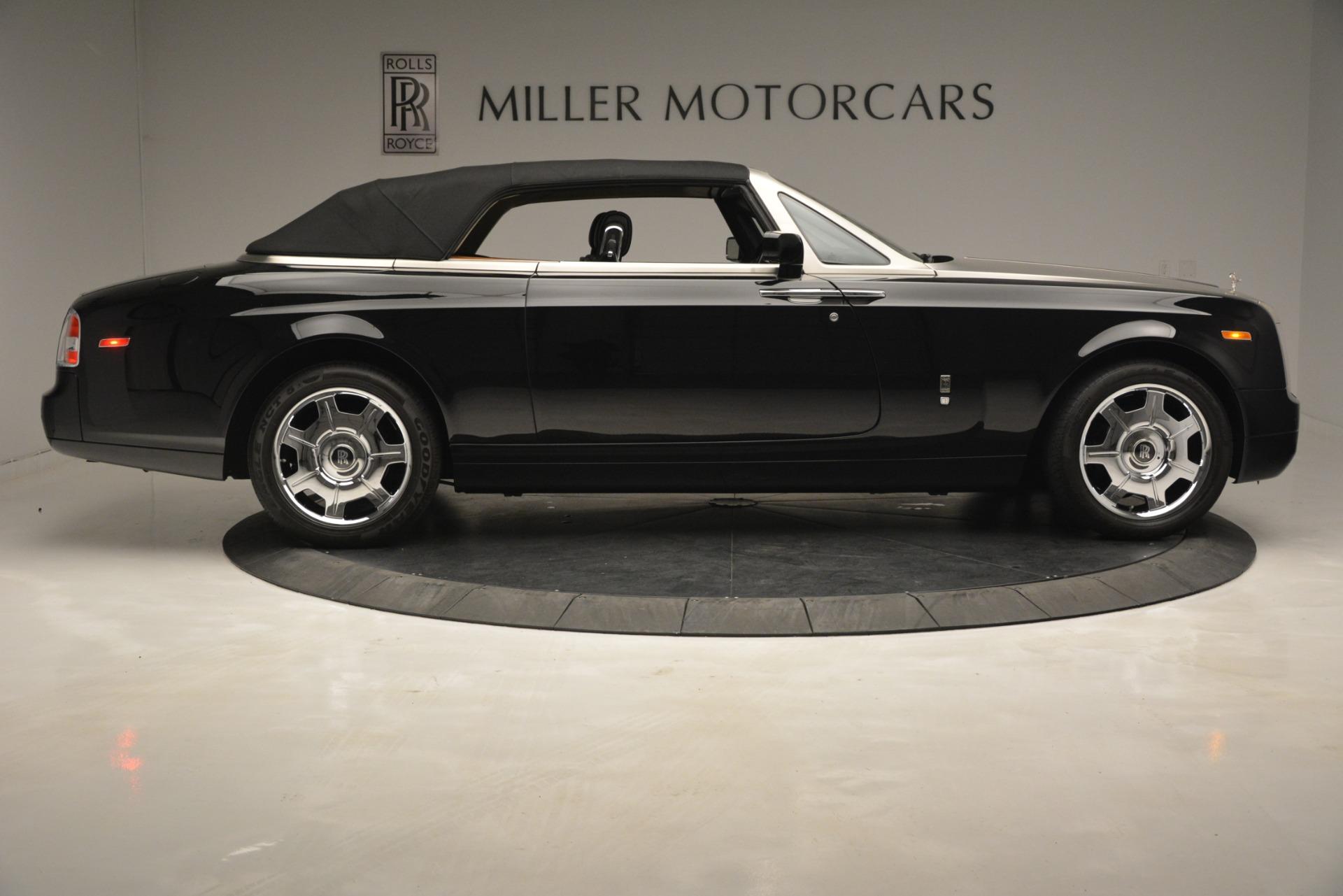 Used 2008 Rolls-Royce Phantom Drophead Coupe  For Sale In Westport, CT 3000_p39