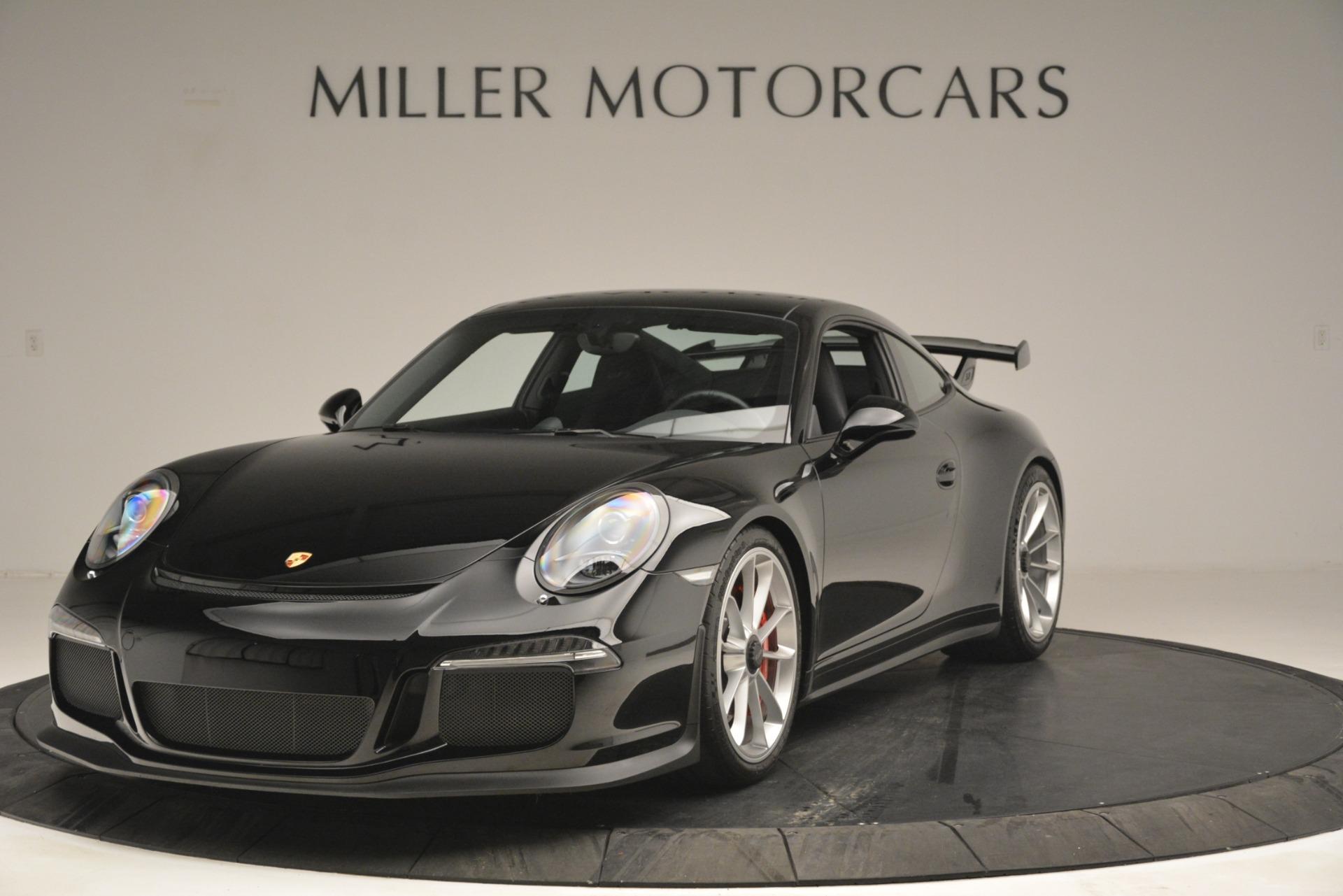 Used 2015 Porsche 911 GT3 For Sale In Westport, CT 3009_main