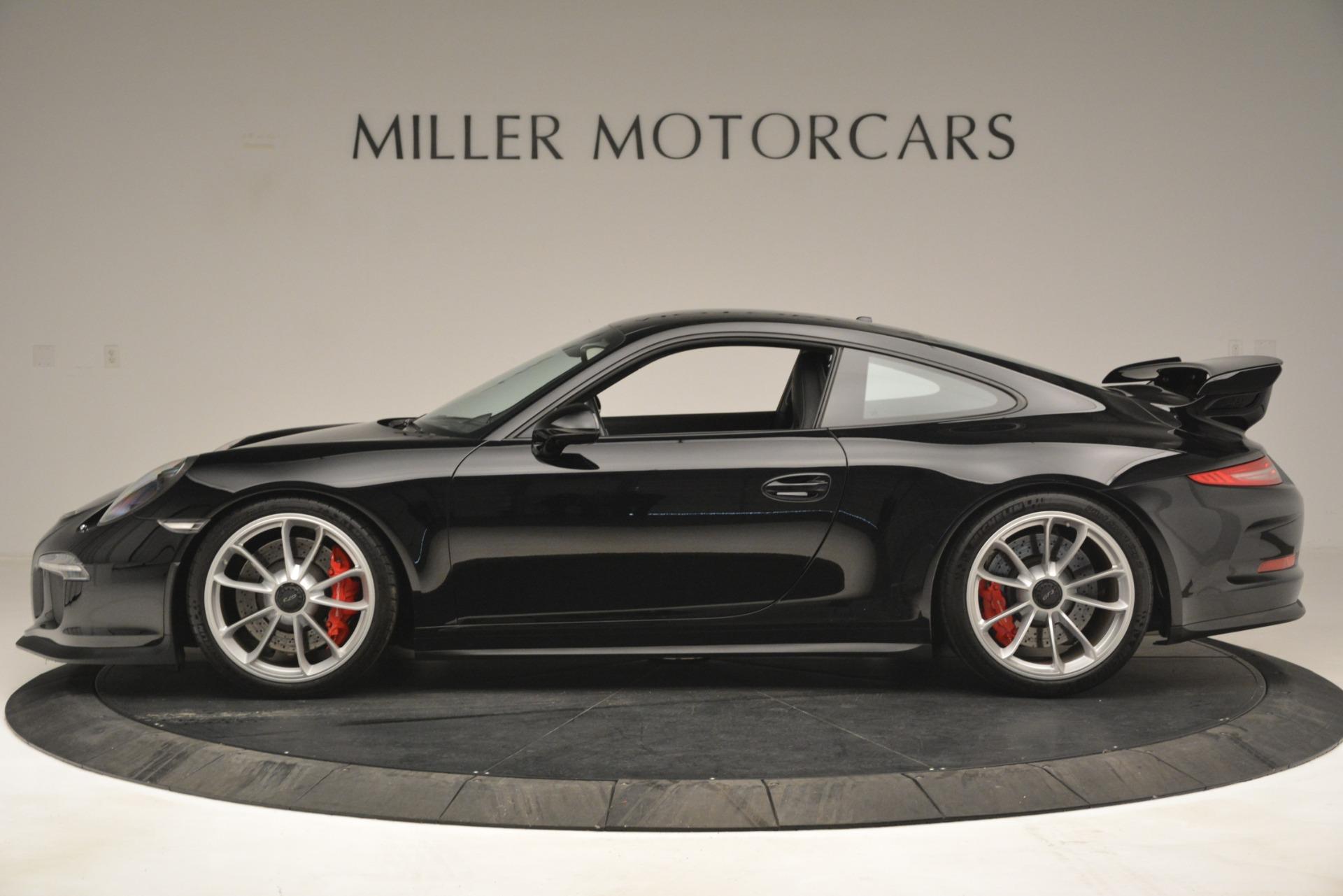 Used 2015 Porsche 911 GT3 For Sale In Westport, CT 3009_p3