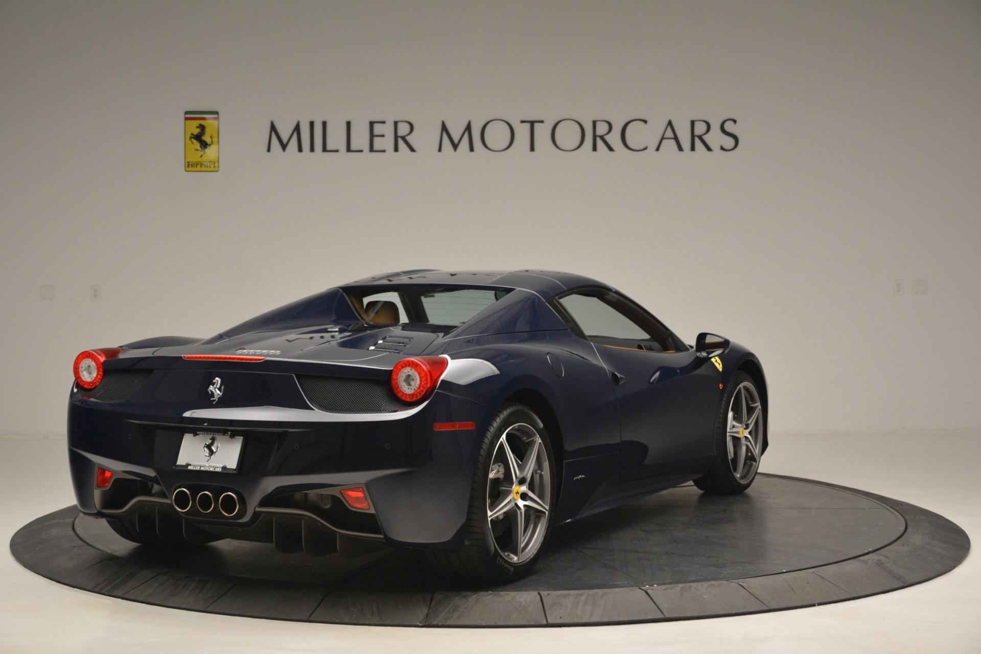 Used 2014 Ferrari 458 Spider  For Sale In Westport, CT 3013_p19
