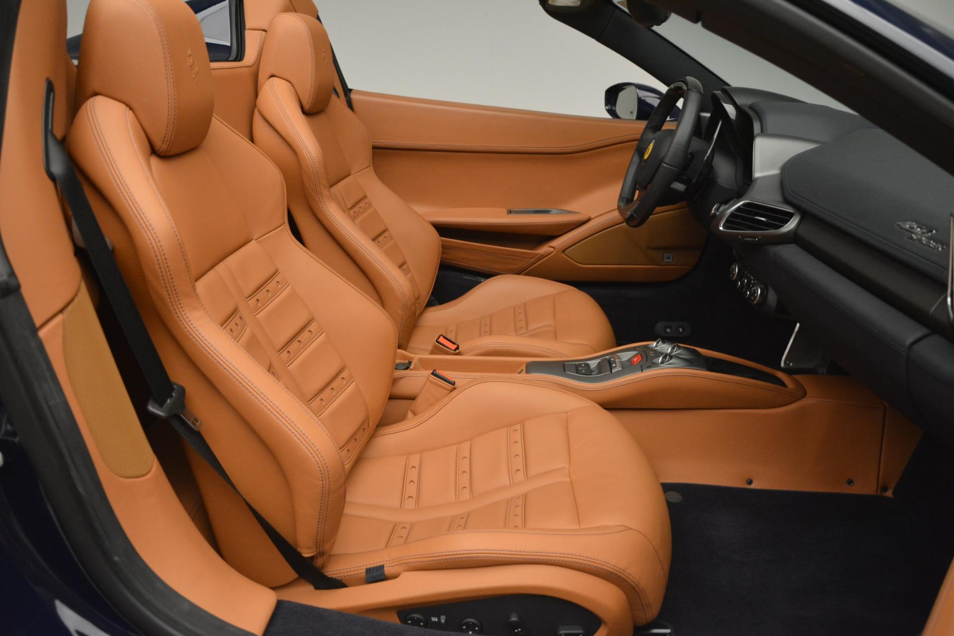 Used 2014 Ferrari 458 Spider  For Sale In Westport, CT 3013_p30