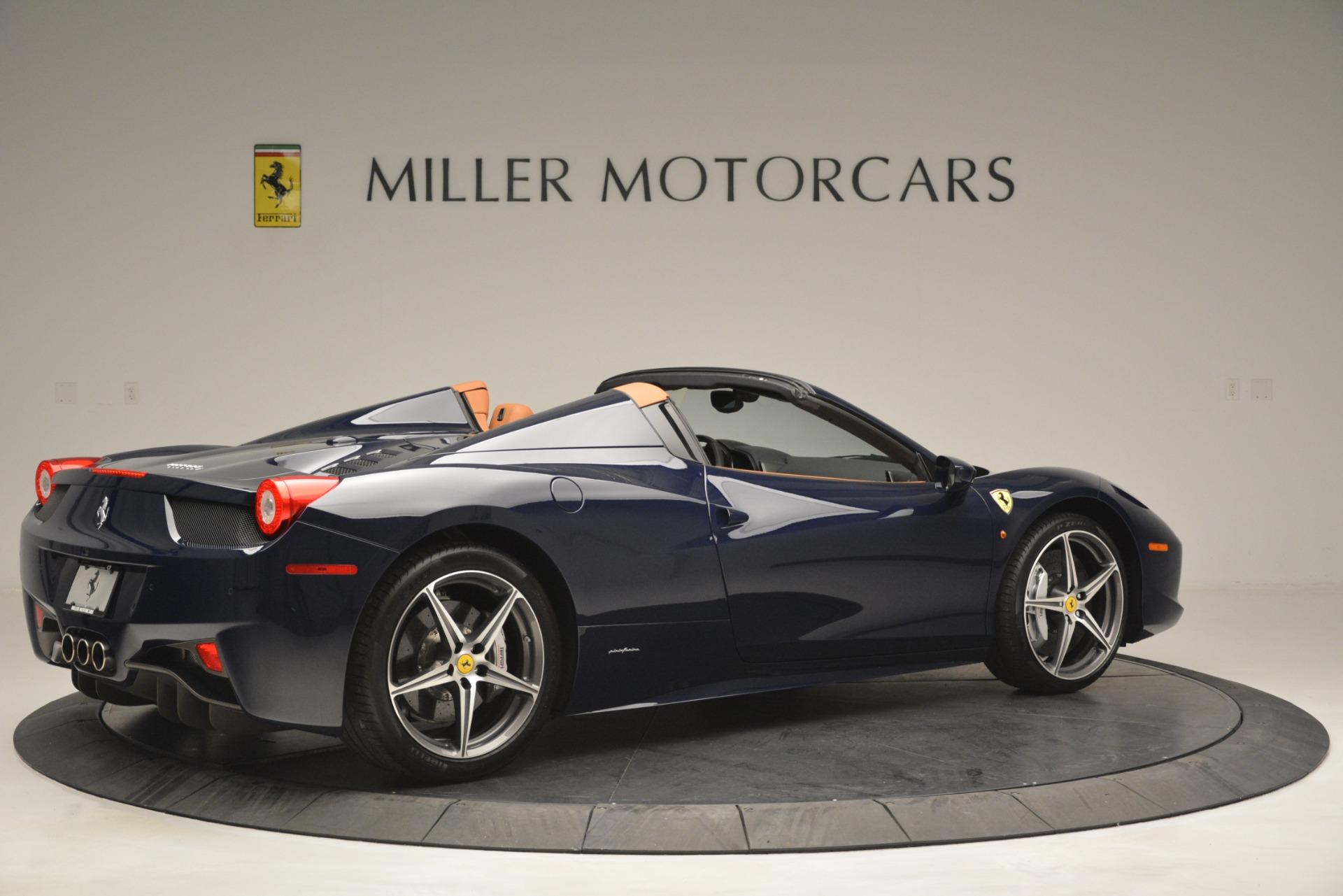Used 2014 Ferrari 458 Spider  For Sale In Westport, CT 3013_p8