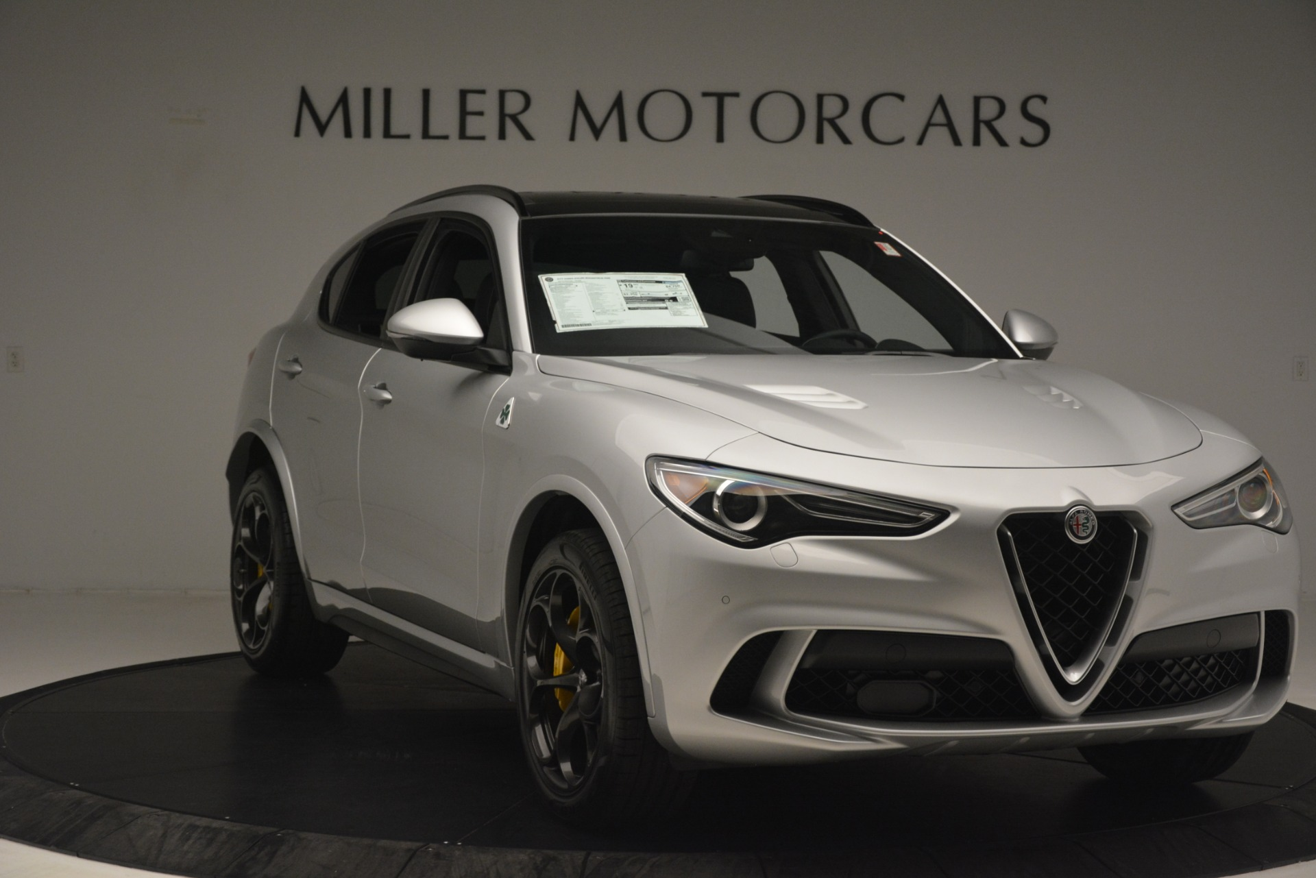 New 2019 Alfa Romeo Stelvio Quadrifoglio For Sale In Westport, CT 3037_p11